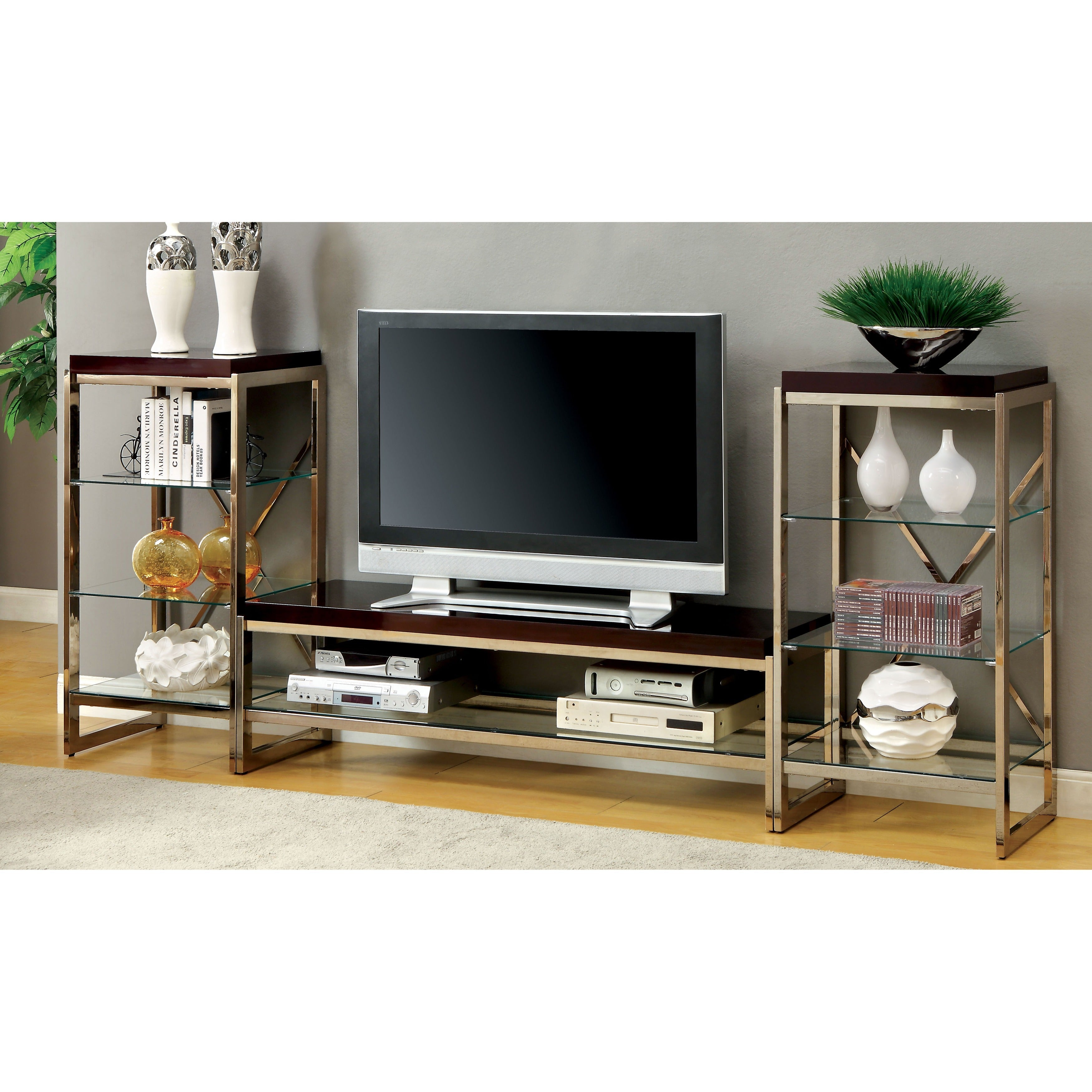 Expo Tv Stands : Trade show booth lcd tv stand u stock photo newb