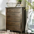 Furniture of America Rubio Country Style Espresso 6-drawer Chest