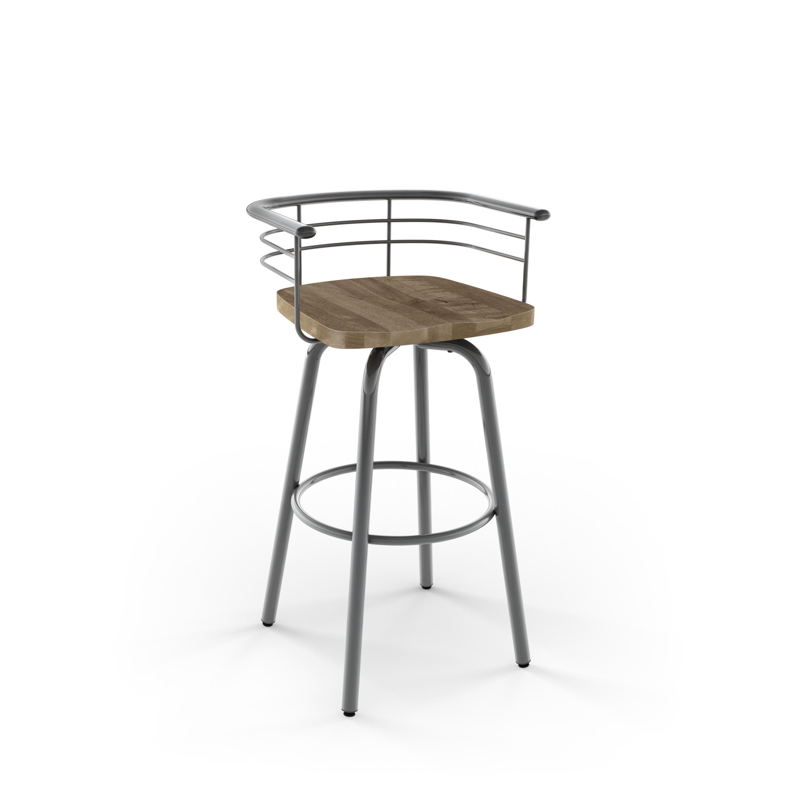 metal distressed overstock free home today cantrell counter with carbon wood garden bar seat shipping product loft swivel stool