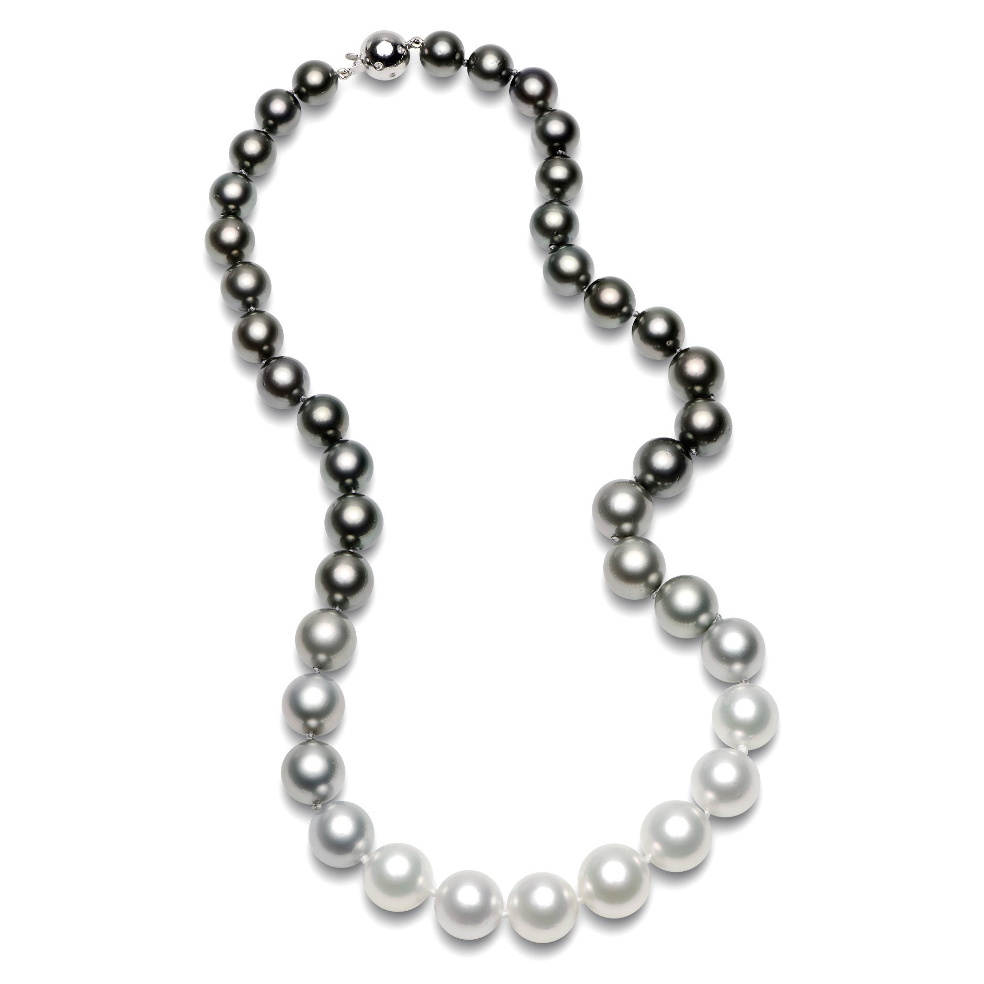 pearl necklace jewellery necklaces size meridian view alternate product os