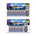 ACDelco Super Alkaline Batteries, 20-Count of AA and 20-Count of AAA