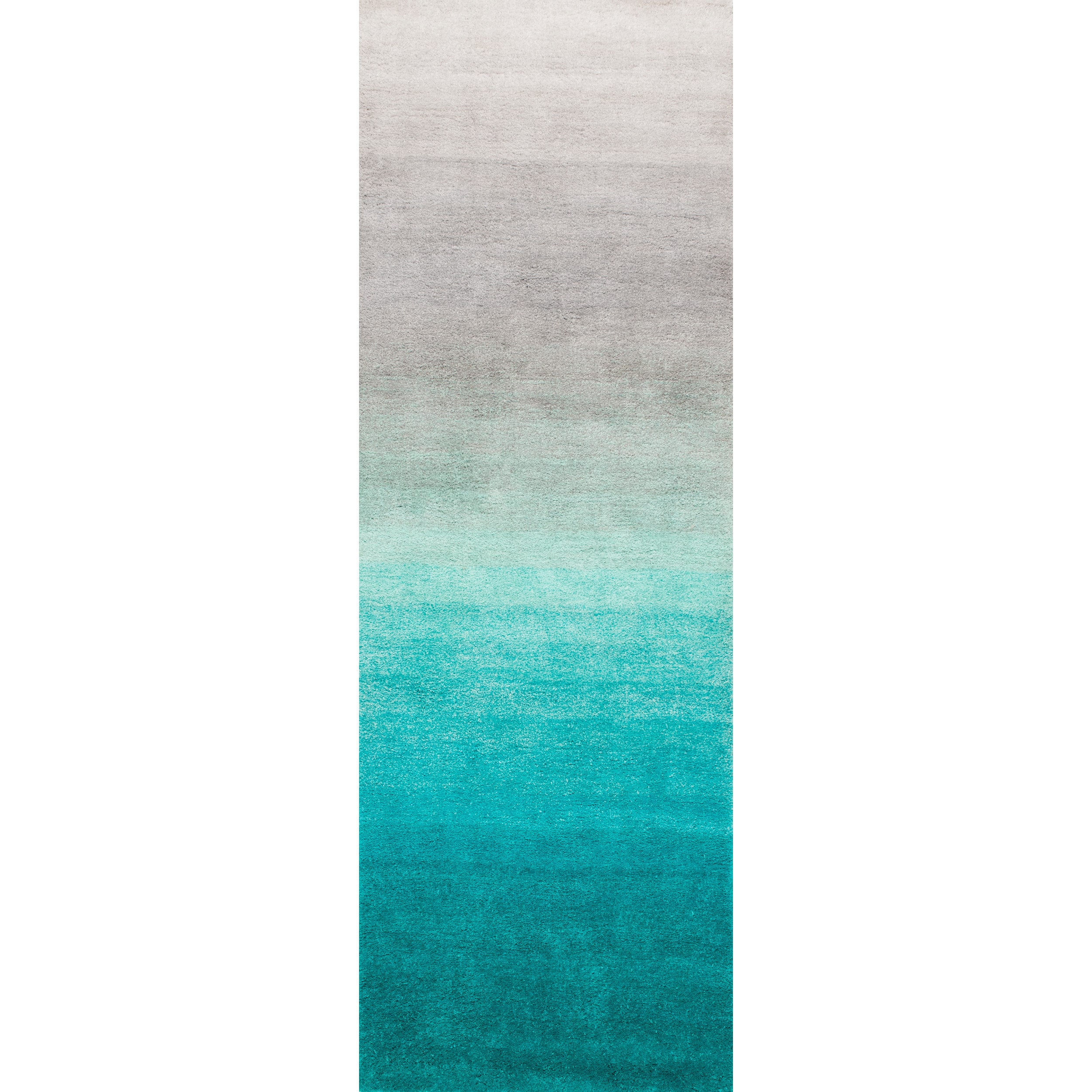 gray shades products of wave blue shag white light ombre rug