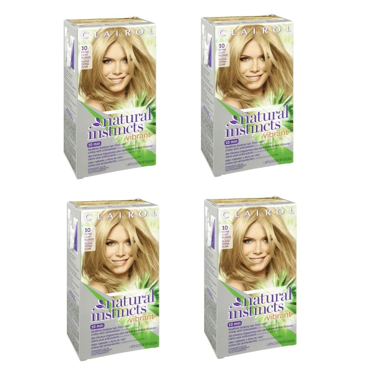 Shop Clairol Natural Instincts Vibrant 10 Extra Light Blonde