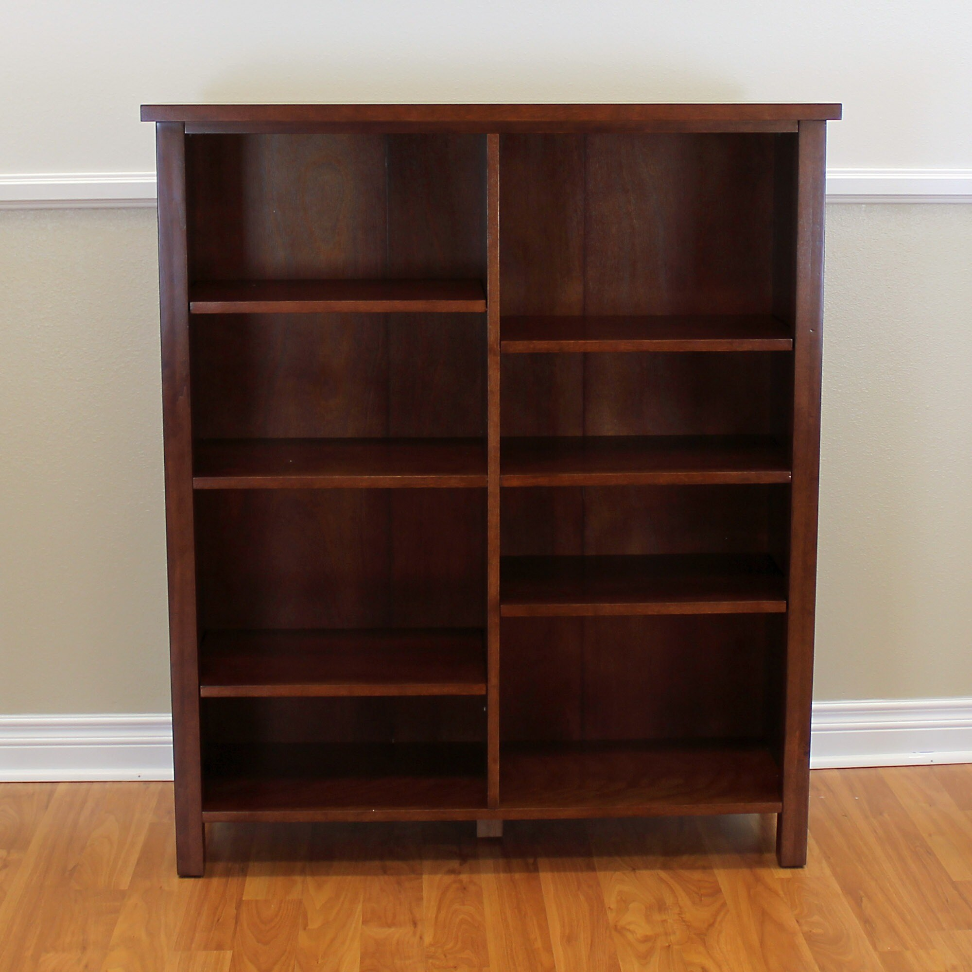 chairish cherry wood product bookcases bookcase broyhill