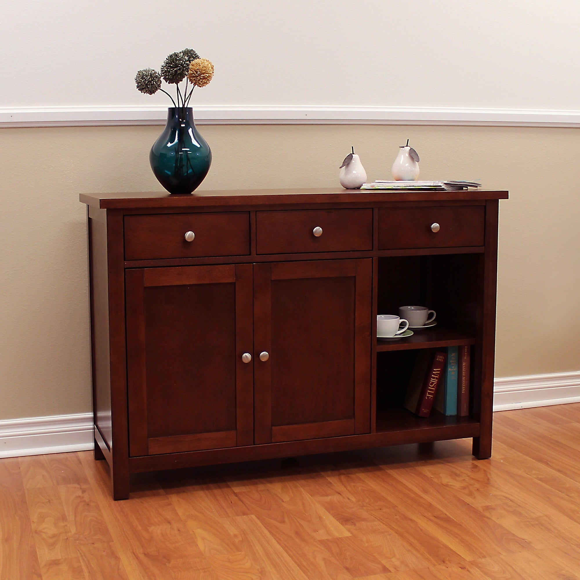 serving and used storage buffet wood table tables grange sideboard off