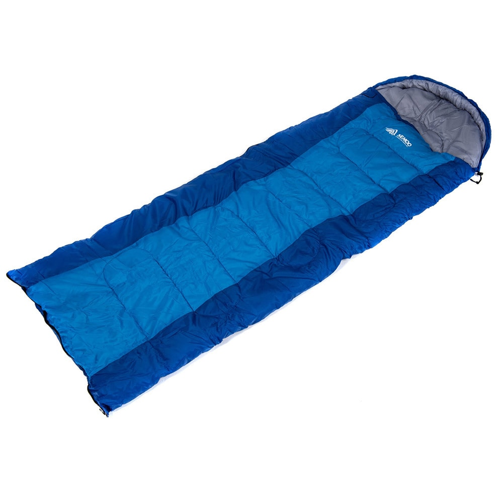 Semoo Comfort Lightweight Portable Sleeping Bag Easy To Compress Envelope Bags With Carry