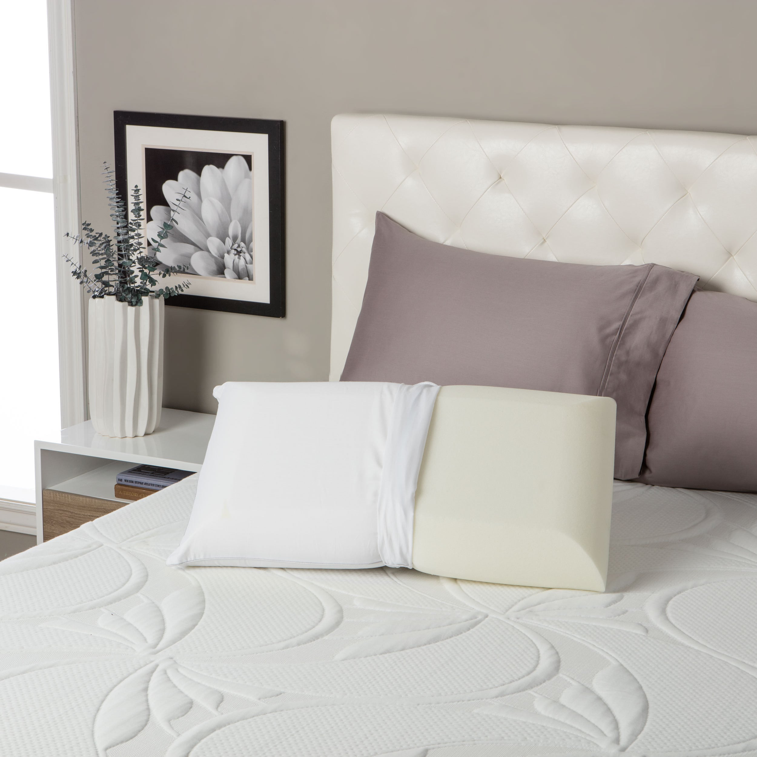 contour shipping free pillow bedding beautyrest overstock memory foam today bath product