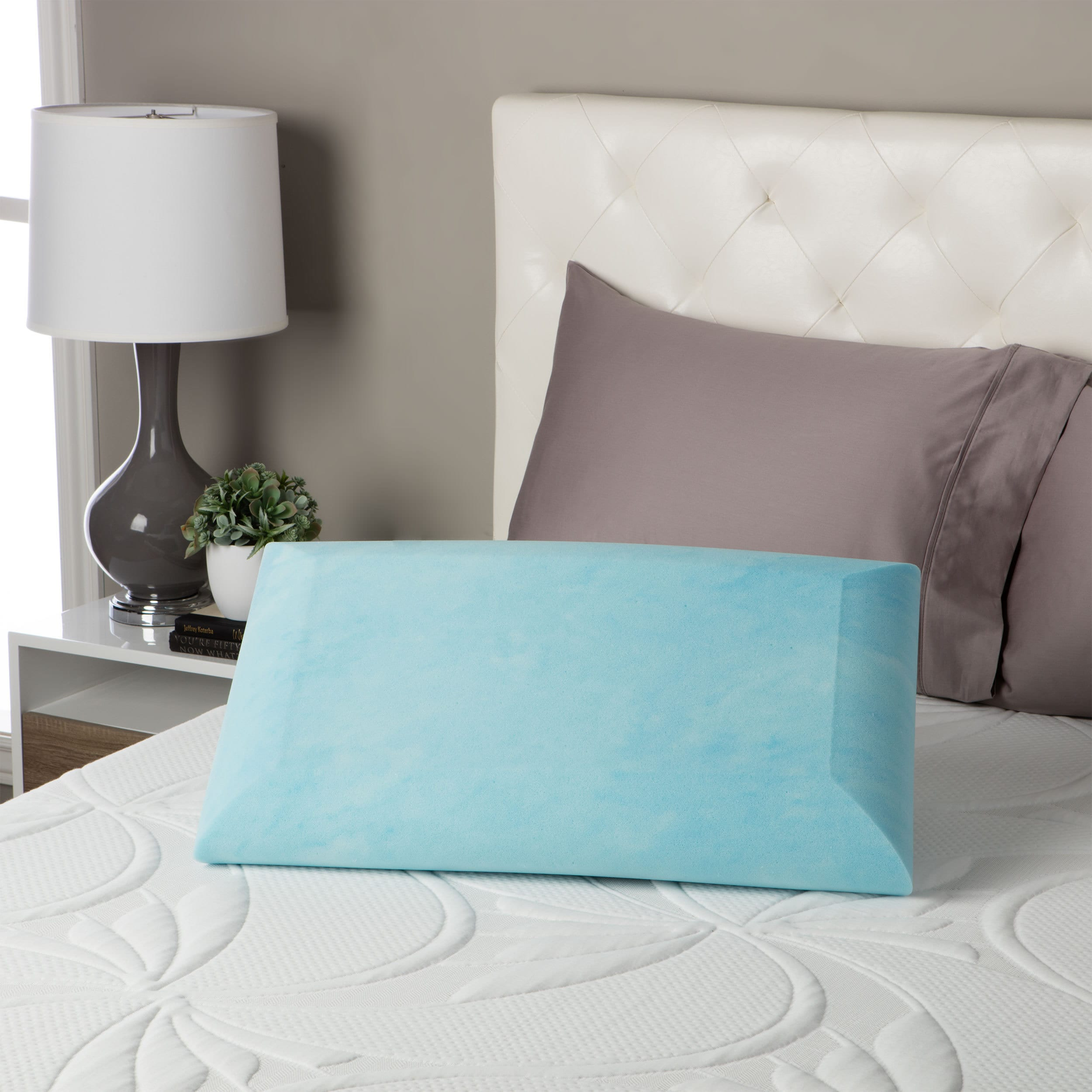 bedding beautyrest pillow over product overstock from foam contour shipping comforpedic on bath memory loft orders free
