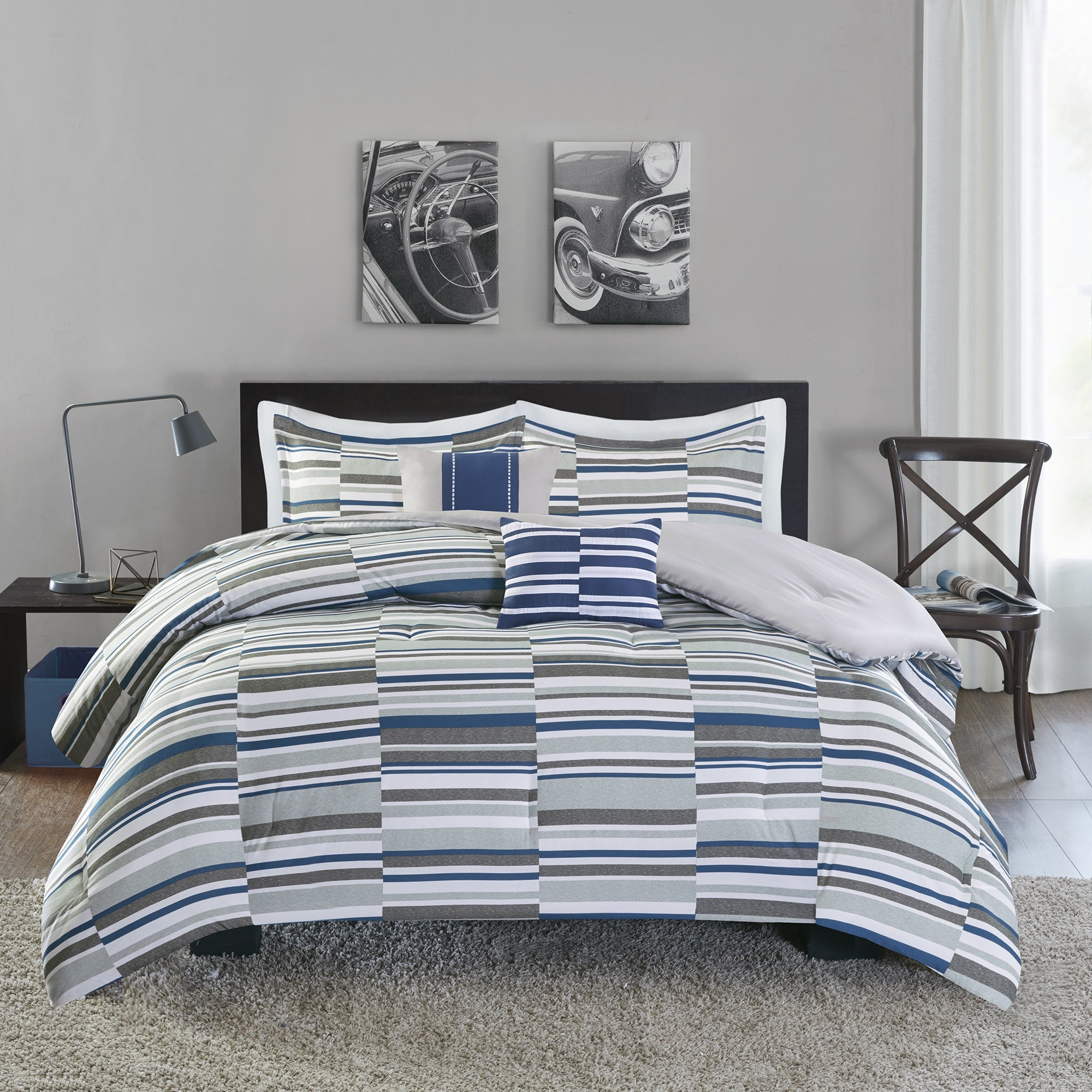 king size and blue bedroom light surprising navy ideas bedding gray photo sets comforter coralg
