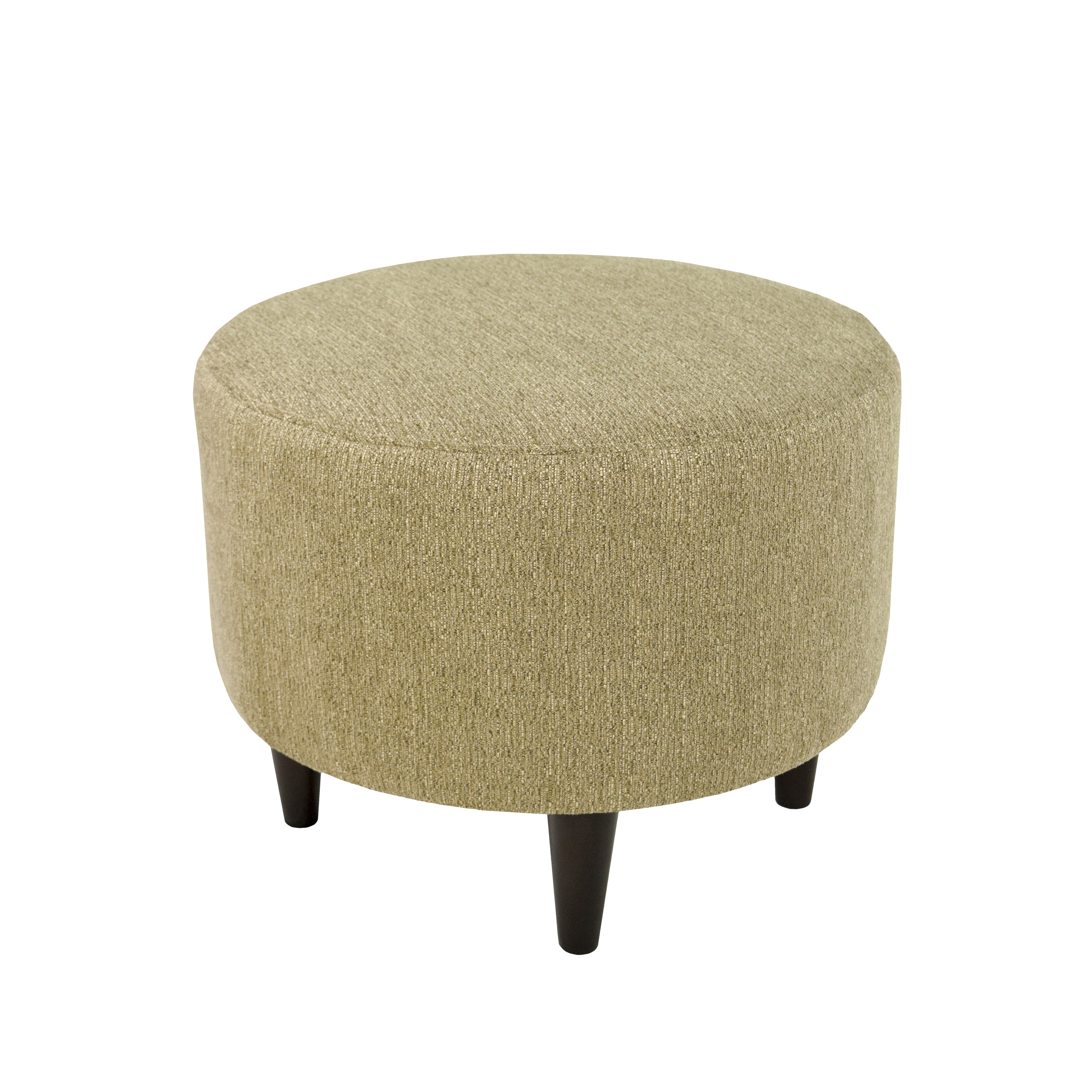 Shop mjl furniture sophia text2olivia round upholstered ottoman free shipping today overstock com 11454270