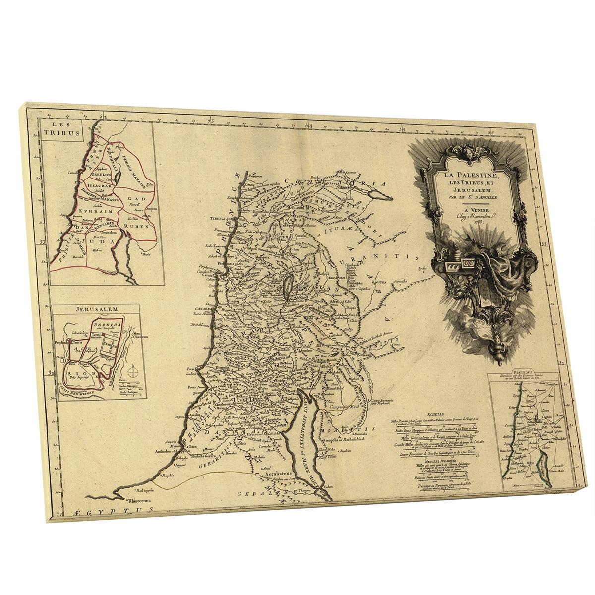 Shop Vintage Apple \'La Palestine Les Tribus, ET Jerusalem\' Gallery ...