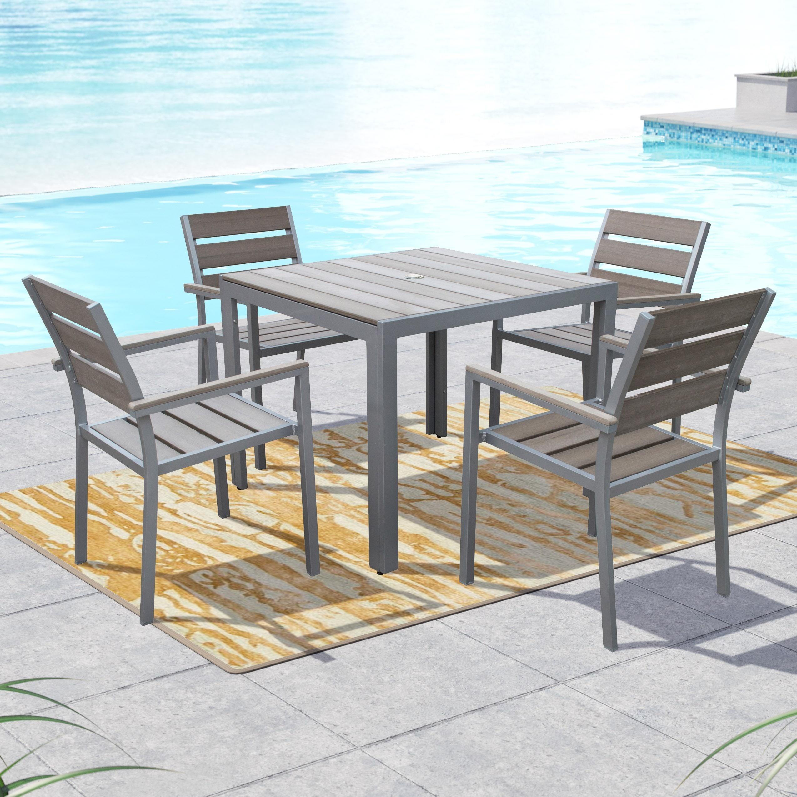New 5 Piece Patio Dining Set