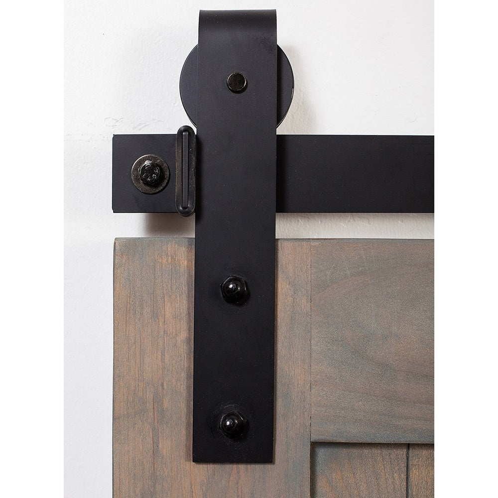 Shop Rustica Hardware Barn Grey Z Barn Door Unassembled With