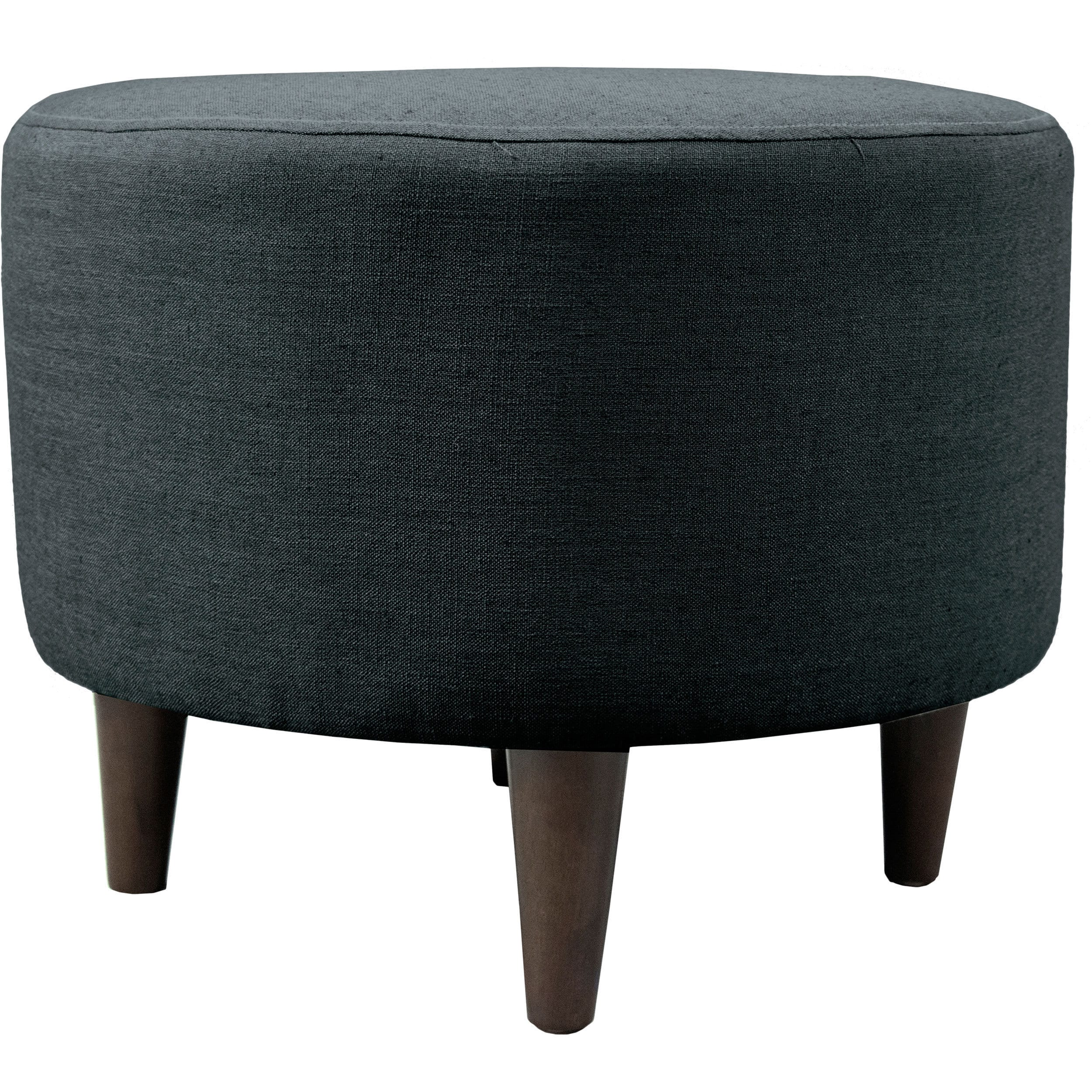 Shop sophia allure round upholstered ottoman on sale free shipping today overstock com 11458880