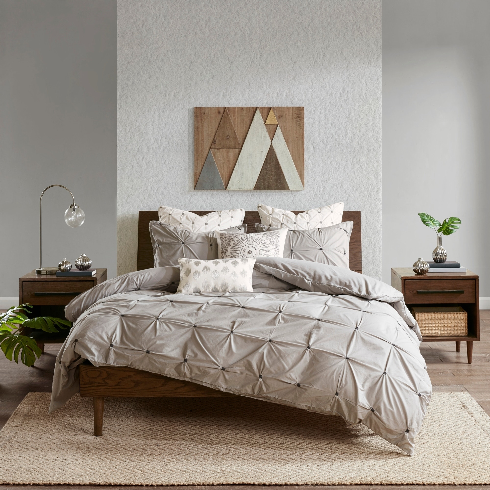 f5476a598f Shop INK+IVY Masie Cotton Duvet Cover Set 2-Color Option - Free Shipping  Today - Overstock - 11460520