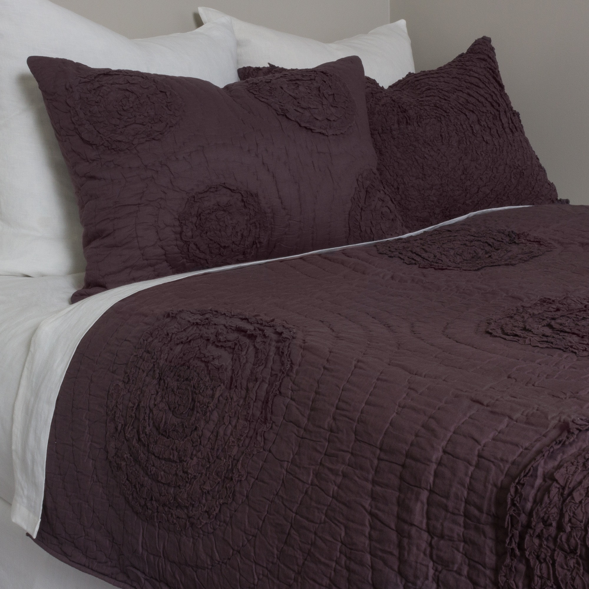 sheets aetherair plum bed asli co quilt