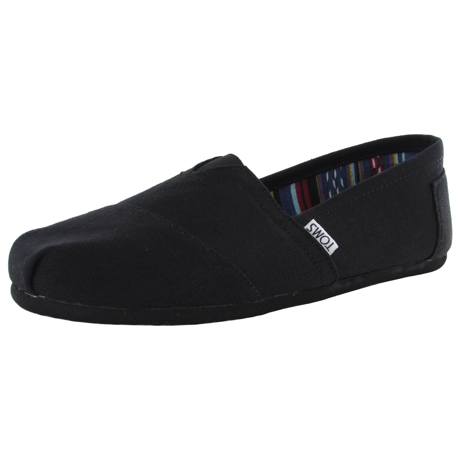 4f8a114fd16 Shop Toms Men's 'Classic Canvas' Slip On Casual Loafer Shoes - Free  Shipping Today - Overstock - 11467813