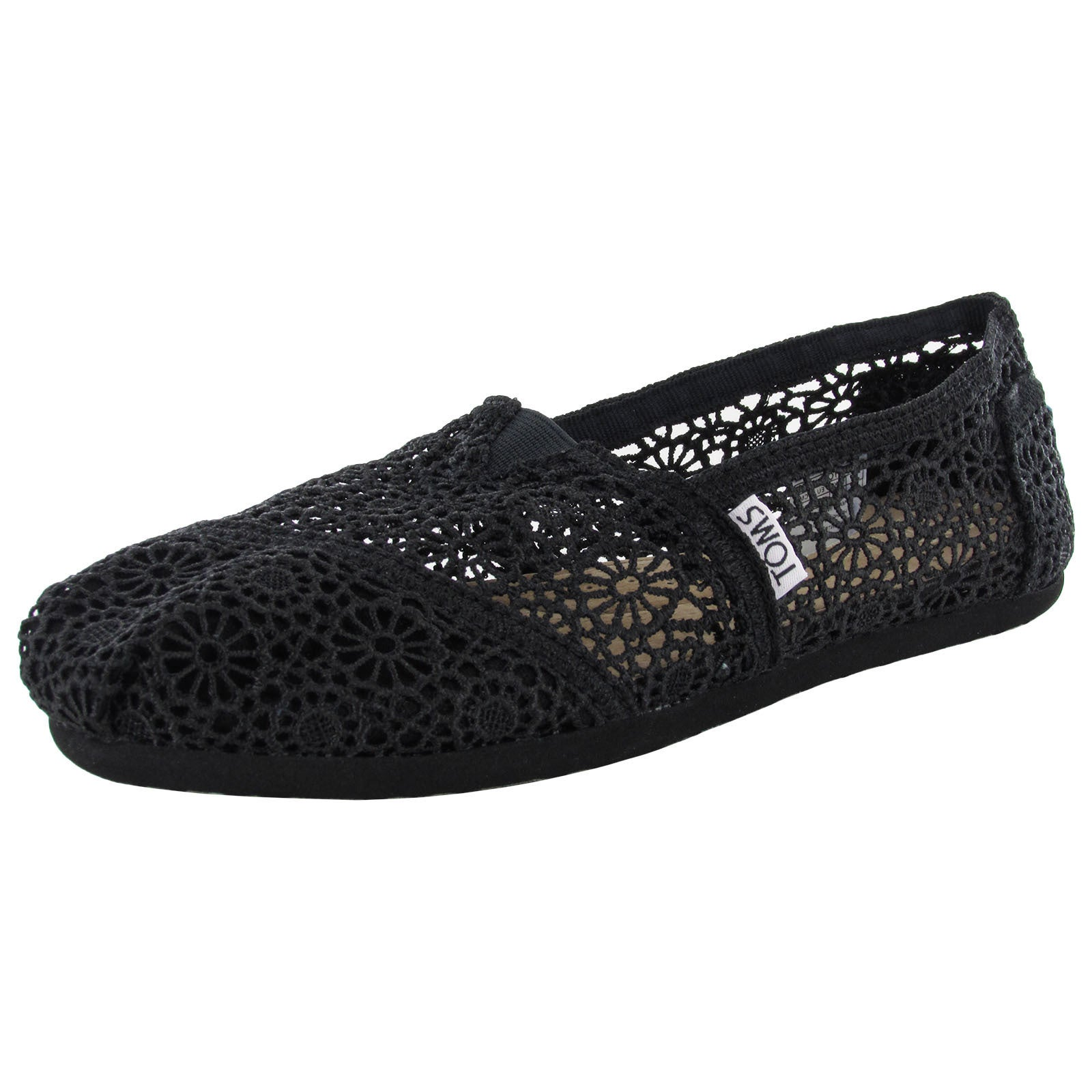 cab62a43df3 Shop Toms Women s Classic Crochet Slip On Alpargata Shoes - Free Shipping  On Orders Over  45 - Overstock - 11467866
