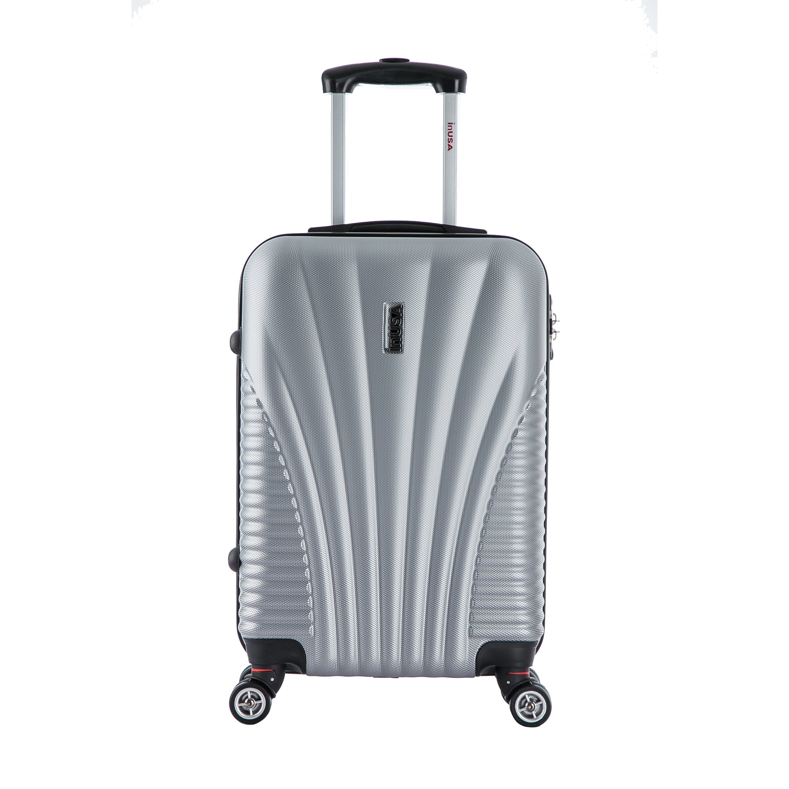 deeefe92c Shop InUSA Chicago Collection 21-inch Carry-on Lightweight Hardside Spinner  Suitcase - Free Shipping Today - Overstock - 11468776