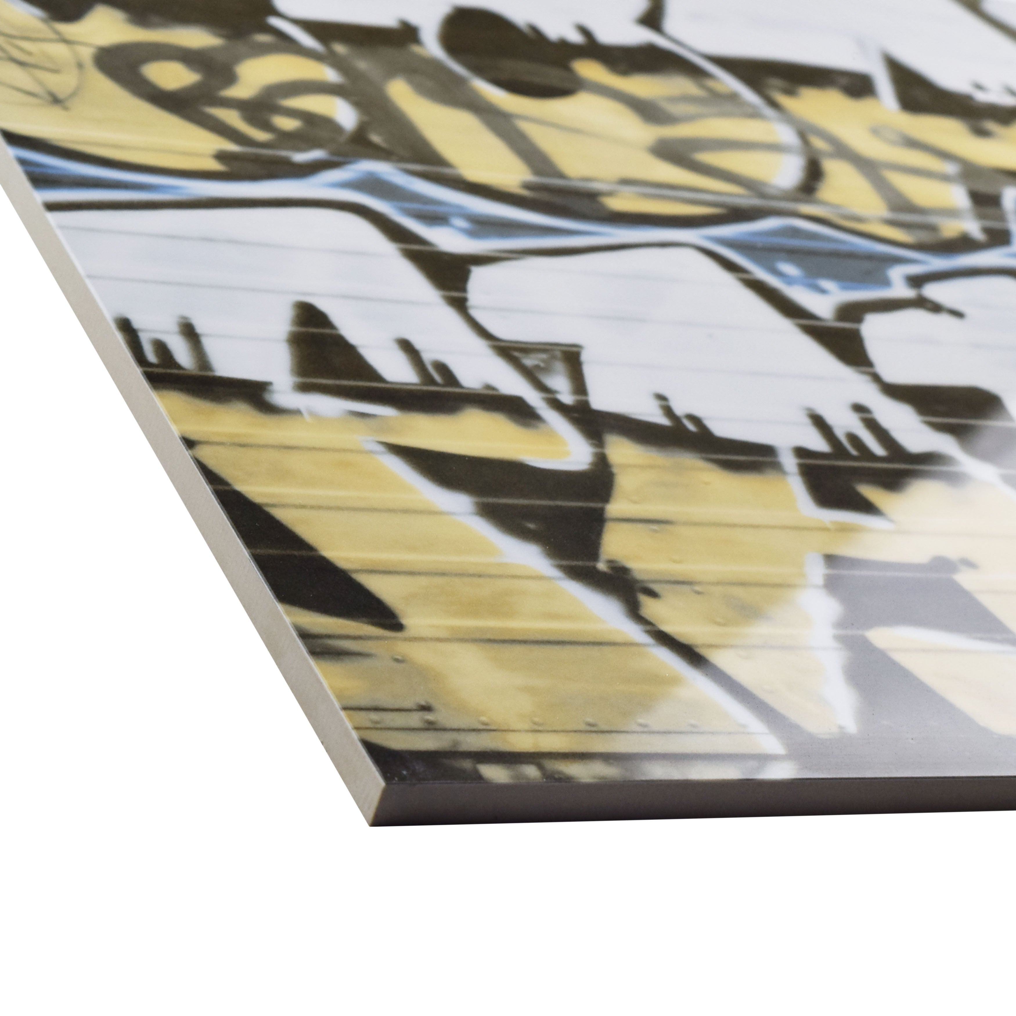 SomerTile 17.375x17.375-inch Graffiti Porcelain Floor and Wall Tile ...
