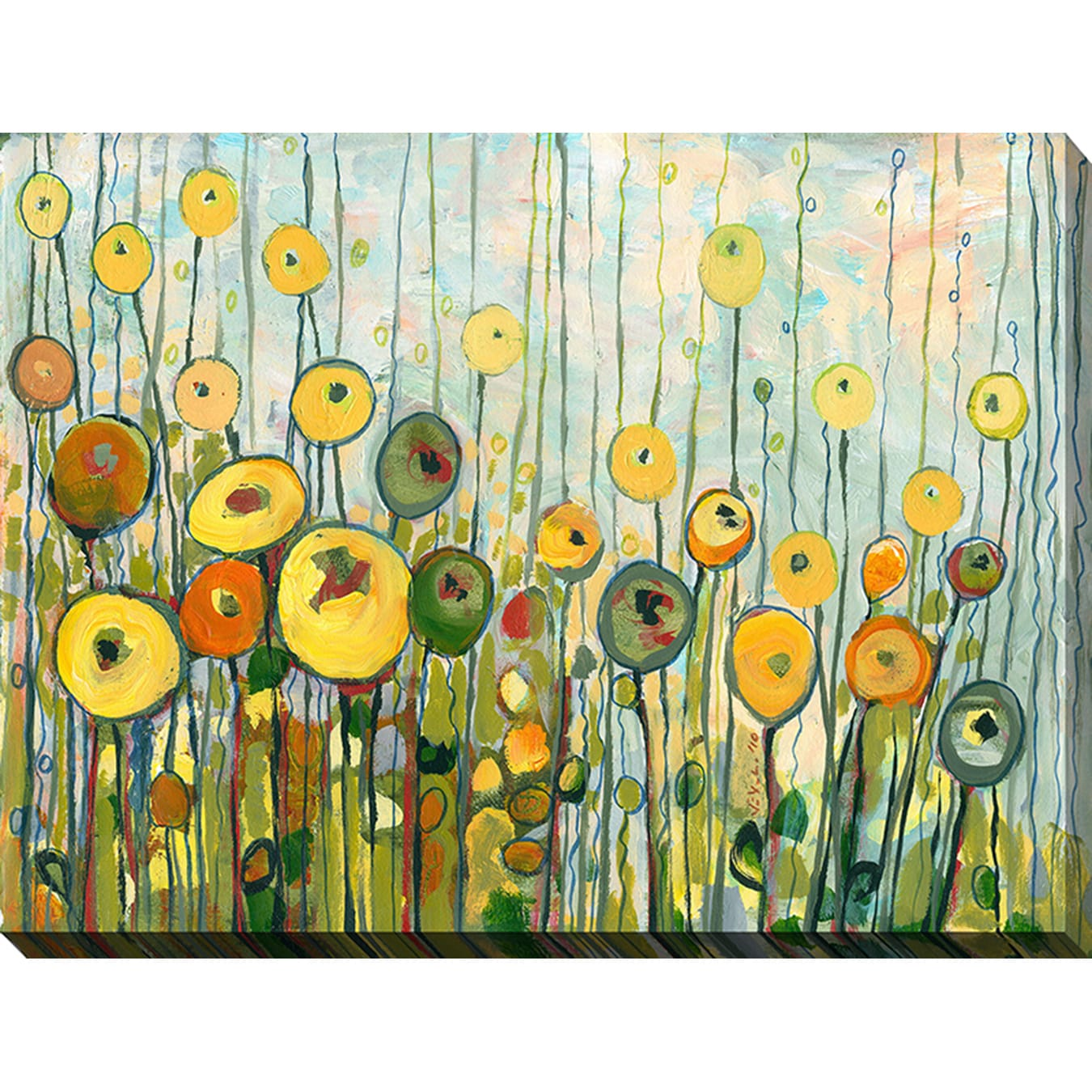 Jennifer Lommers \'Martini Poppies\' Giclee Print Canvas Wall Art ...