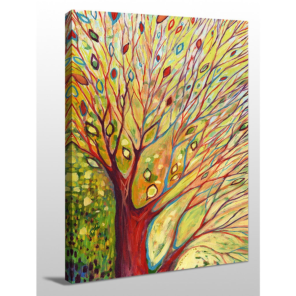Jennifer Lommers \'Rainbow Tree In Autumn\' Giclee Print Canvas Wall ...