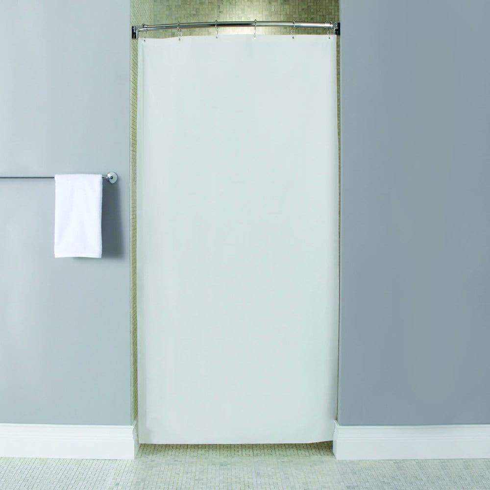 Shop Heavyweight Mildew-Resistant Vinyl Stall Shower Curtain Liner ...