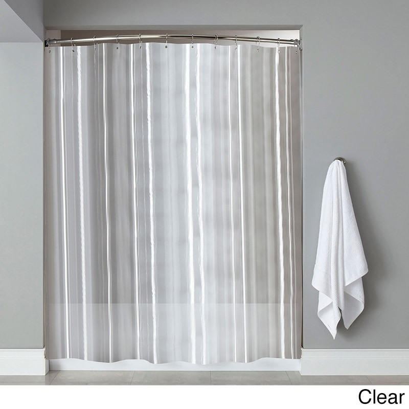 Shop Extra Long Heavyweight Mildew Resistant Vinyl Shower Curtain Liner