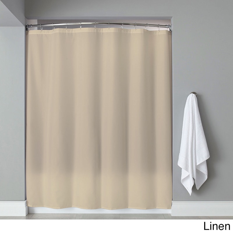Extra Long Heavyweight Mildew Resistant Vinyl Shower Curtain Liner 72 X 84 On Free Shipping Orders Over 45 11487459