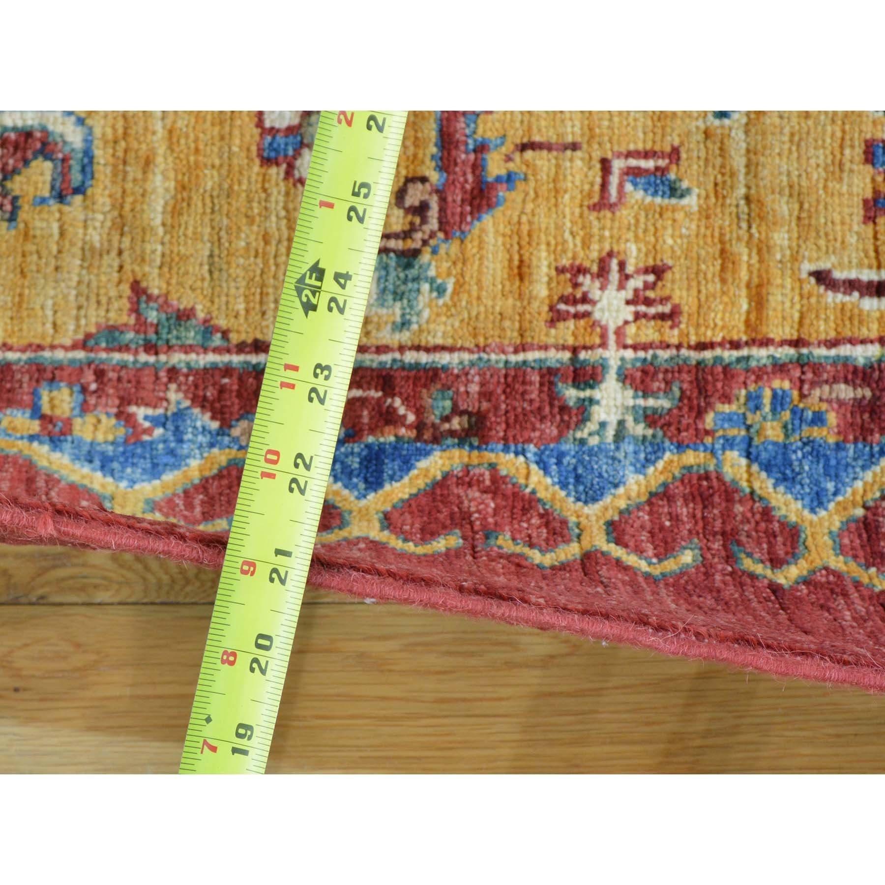 Afghan Patchwork Oriental Hand-knotted Ghazni Wool Rug (9\u0027 x 13\u00275 ...