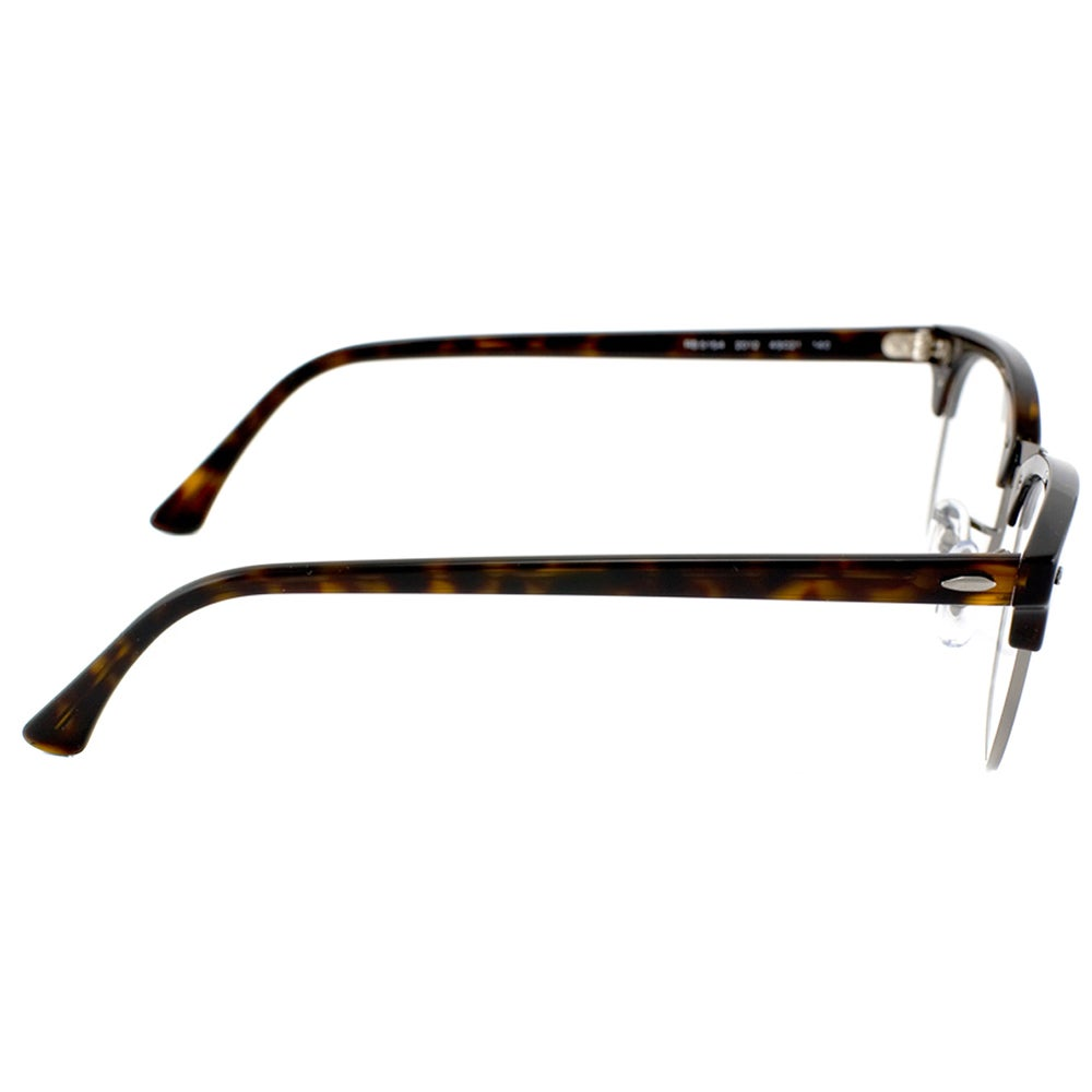 76139552ccf Shop Ray-Ban Clubmaster RX 5154 2012 Dark Havana And Gunmetal Clubmaster  Plastic 49mm Eyeglasses - Free Shipping Today - Overstock - 11489598