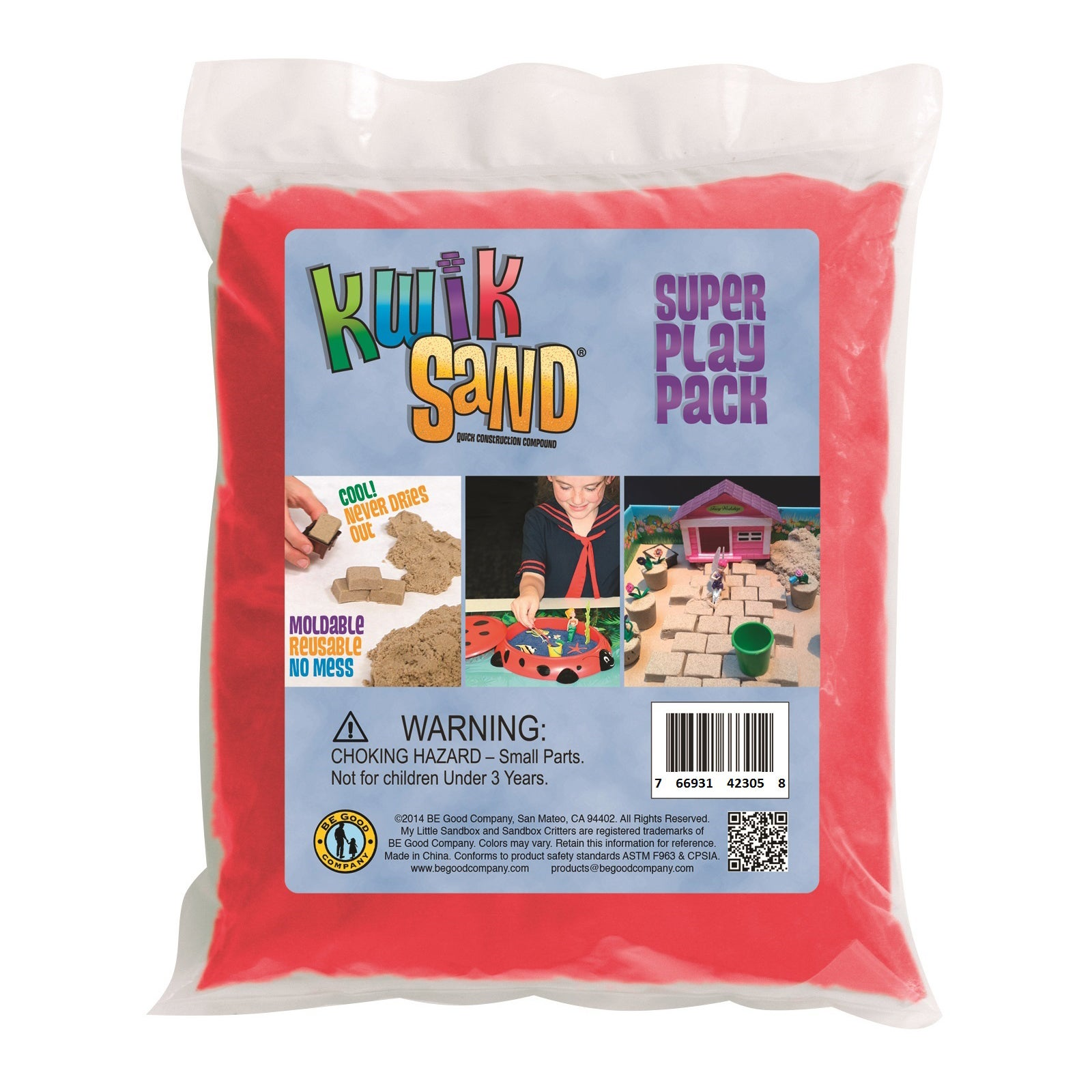 KwikSand Refill Pack Red