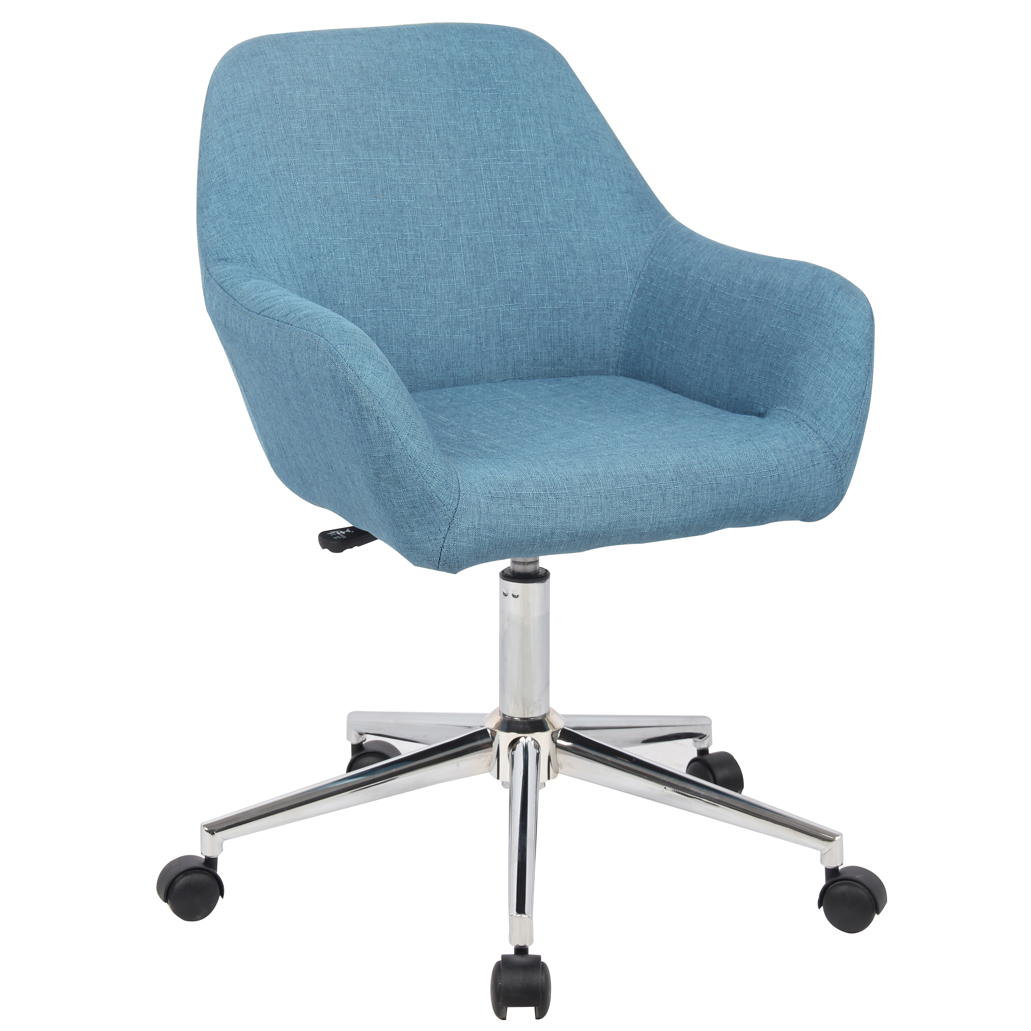 shop porthos home montgomery upholstered office chair free