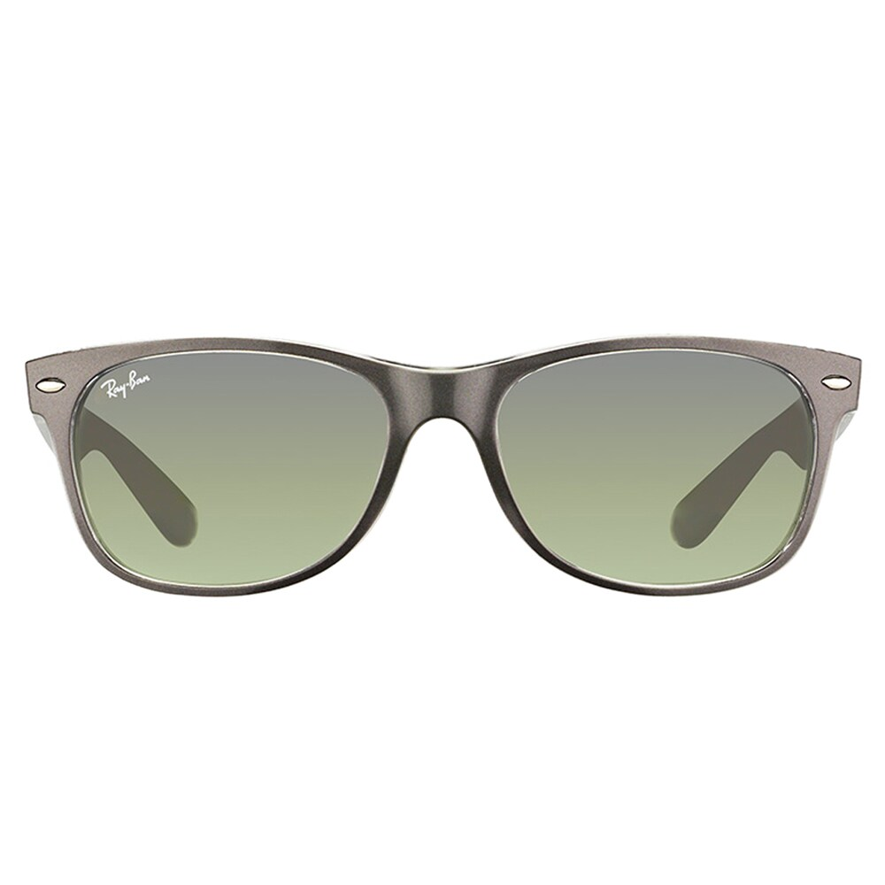 d7717cf876 Shop Ray-Ban New Wayfarer Women s Brushed Gunmetal on Crystal Plastic  Sunglasses - Ships To Canada - Overstock.ca - 11511403
