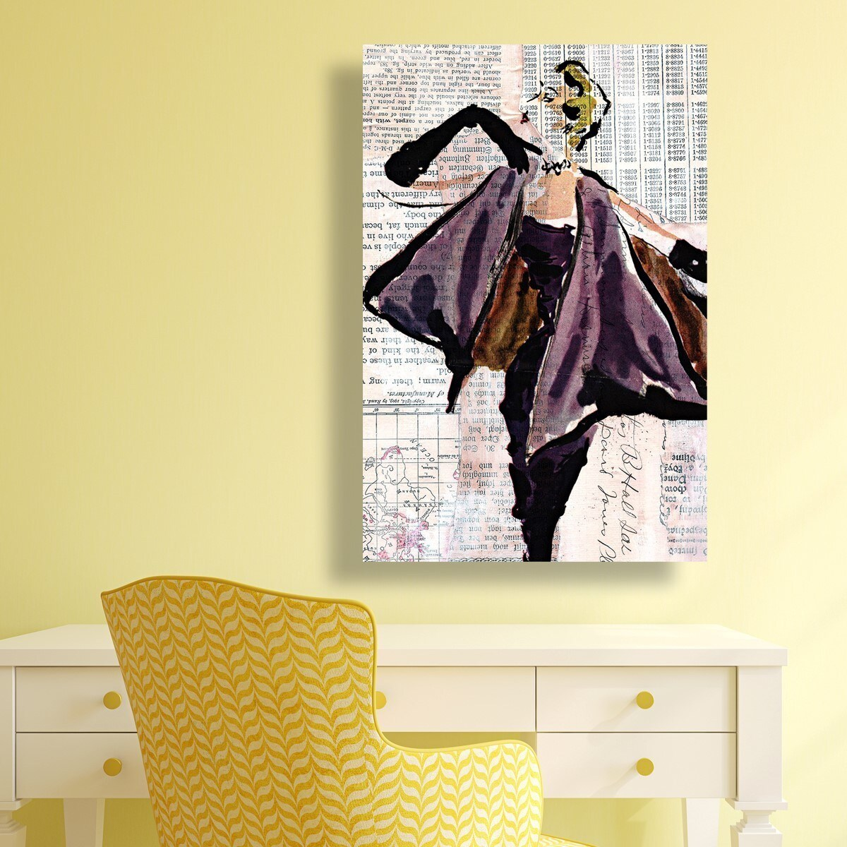 Shop Oliver Gal \'Vintage Glam\' Canvas Art - Free Shipping Today ...