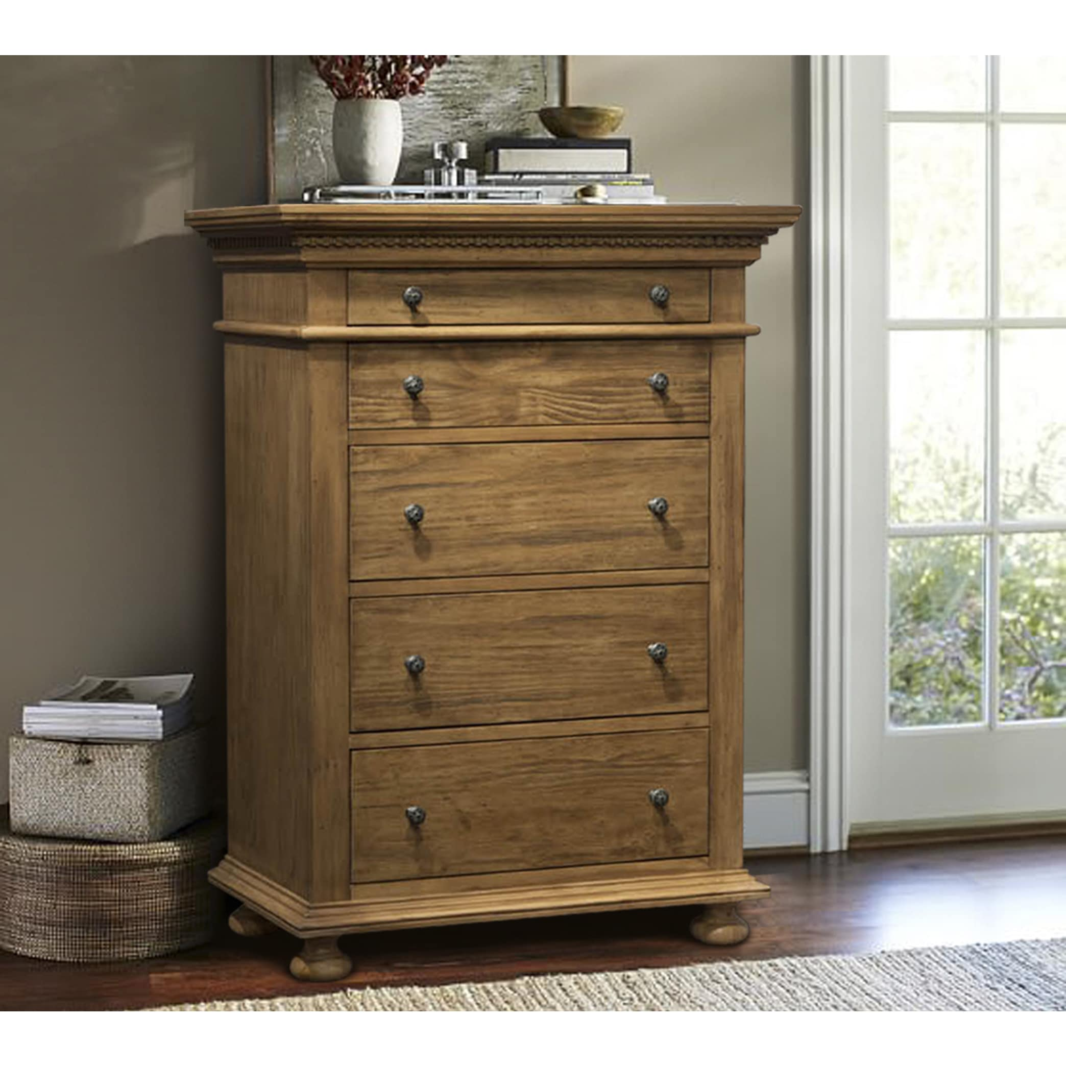 599789ac61e8 Shop Addington Hill 5-drawer Chest - On Sale - Free Shipping Today ...
