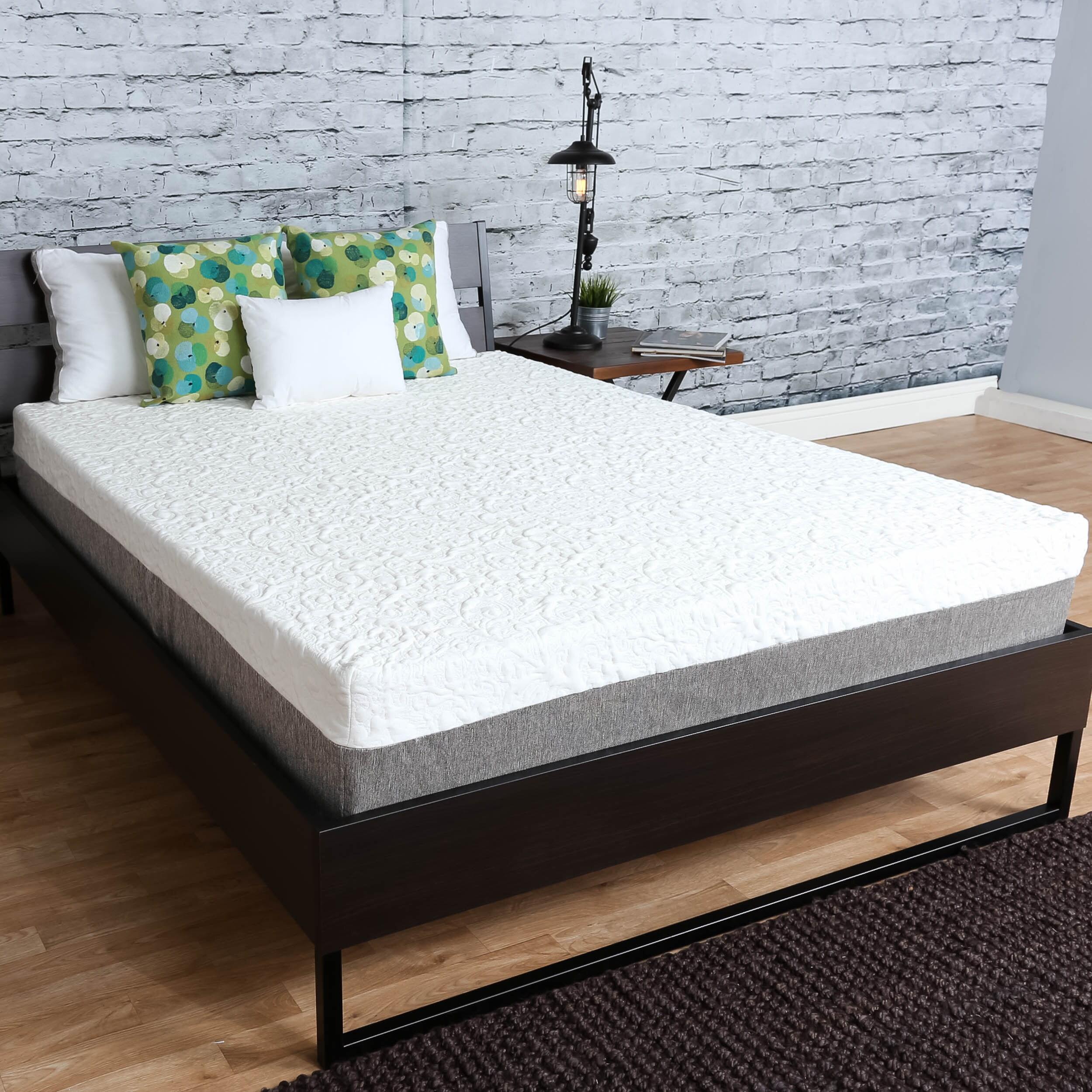 shop premier sleep products medium firm 10 inch short queen size