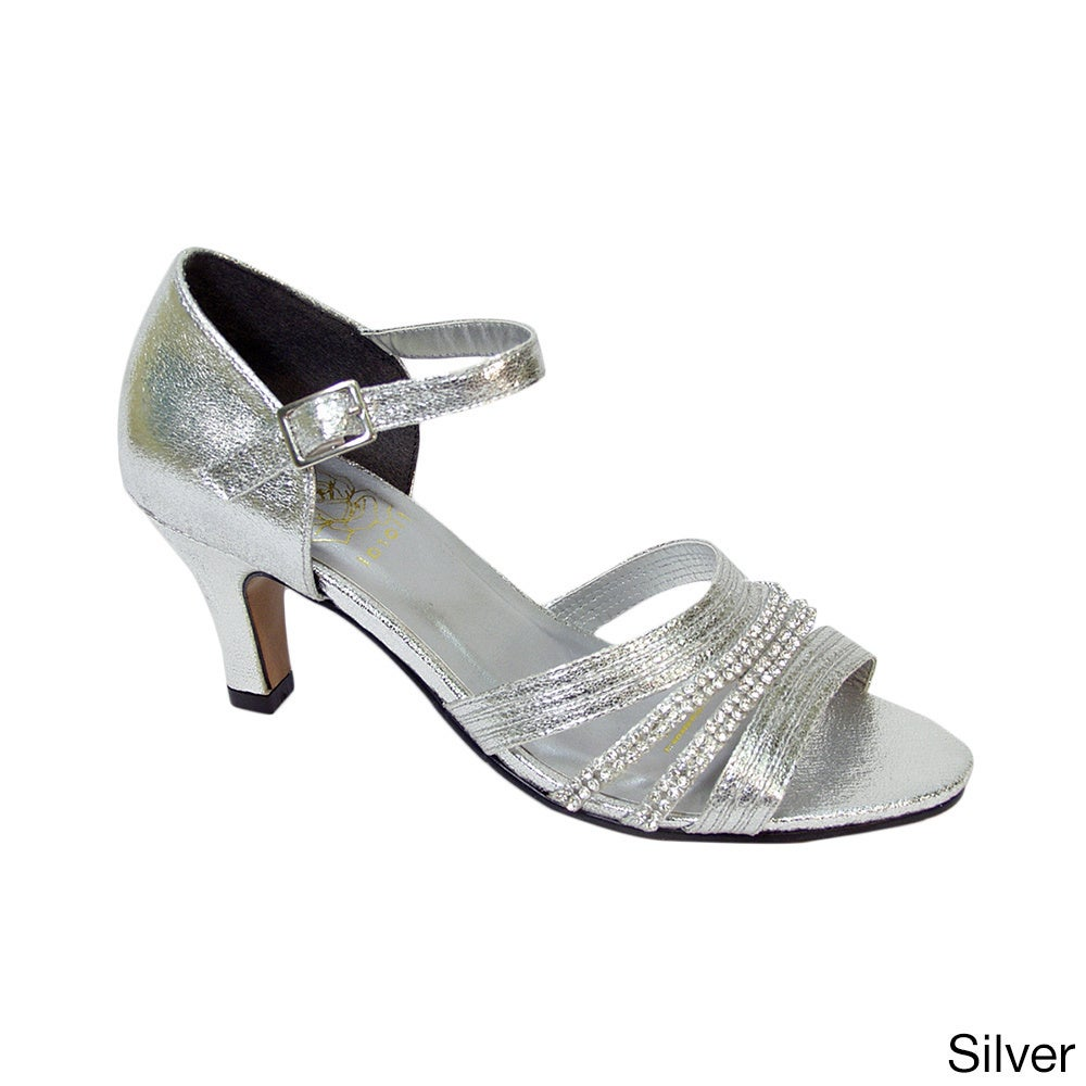 FIC FLORAL Eryn Women's Extra Wide Width Evening Dress Shoes - Free Shipping Today - Overstock.com - 18467266
