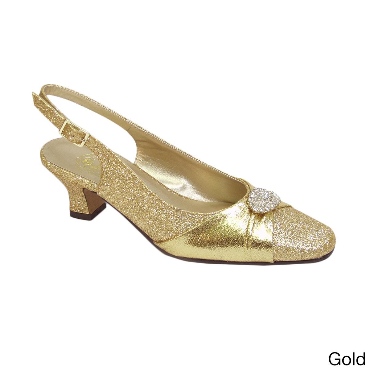 1c6a20cda2 Shop FIC FLORAL Elaine Women s Extra Wide Width Dress Shoes - Free ...