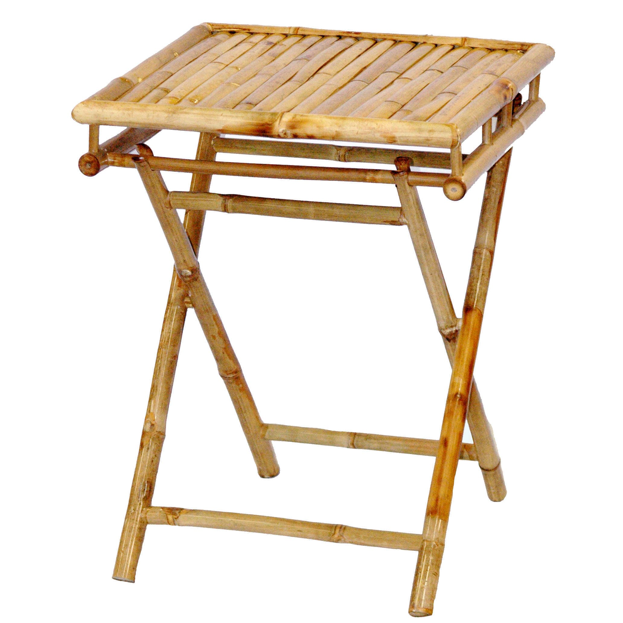 Shop Handmade Bistro Small Bamboo Table and Chairs Set (Vietnam) - Free Shipping Today - Overstock.com - 11519205  sc 1 st  Overstock.com & Shop Handmade Bistro Small Bamboo Table and Chairs Set (Vietnam ...