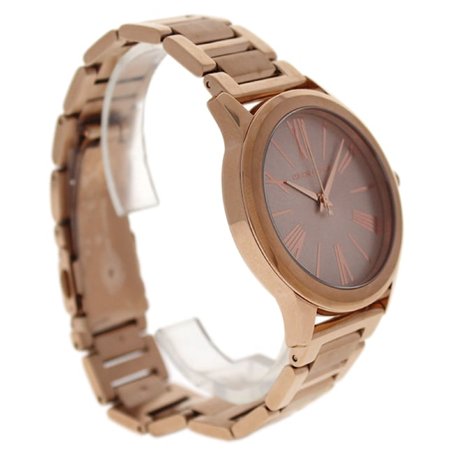 d361c9dd3931 Shop Michael Kors Women s MK3491 Hartman Rose-Tone Dial Rose-Tone Gold  Stainless Steel Bracelet Watch - Free Shipping Today - Overstock - 11519633
