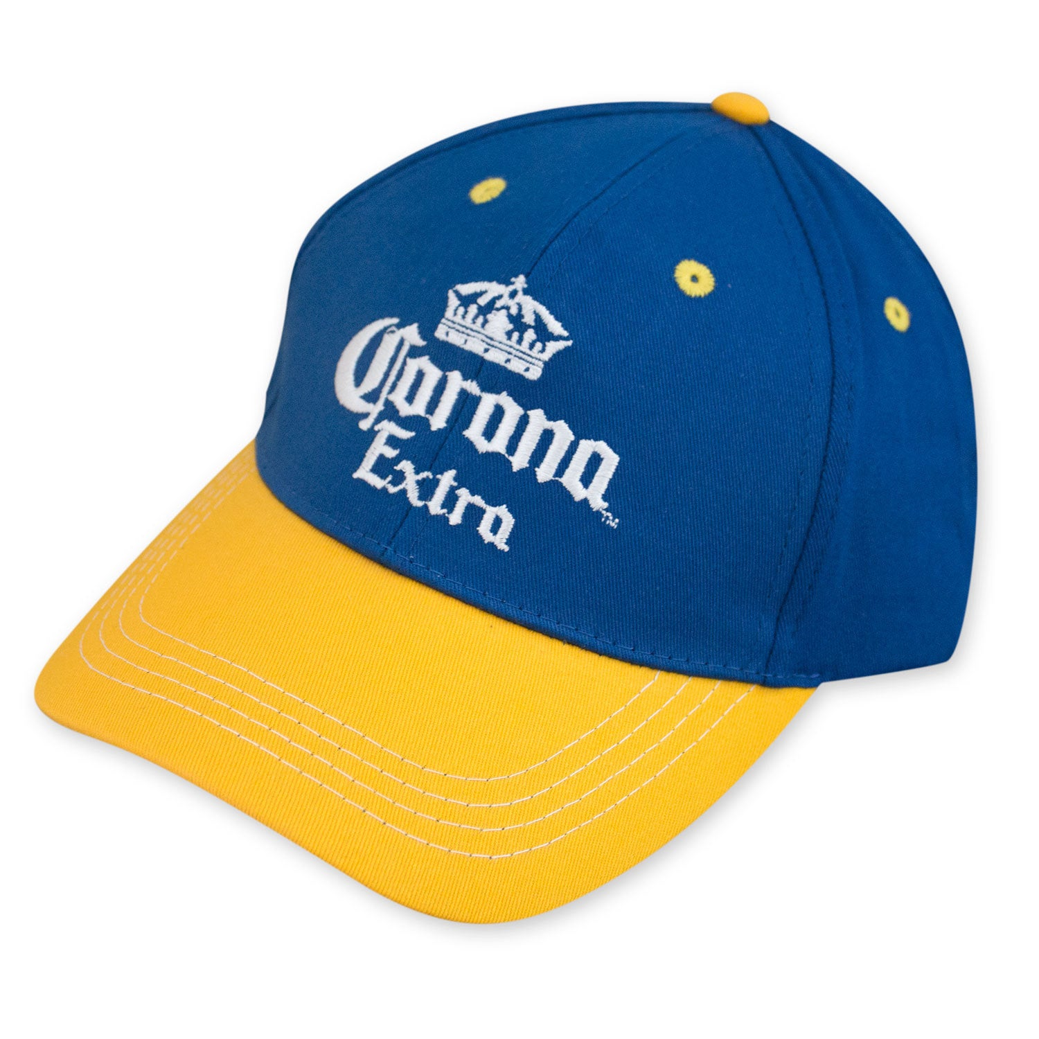 Shop Corona Extra Blue And Yellow Hat - Free Shipping On Orders Over  45 -  Overstock.com - 11519862 8c6fe2e251a
