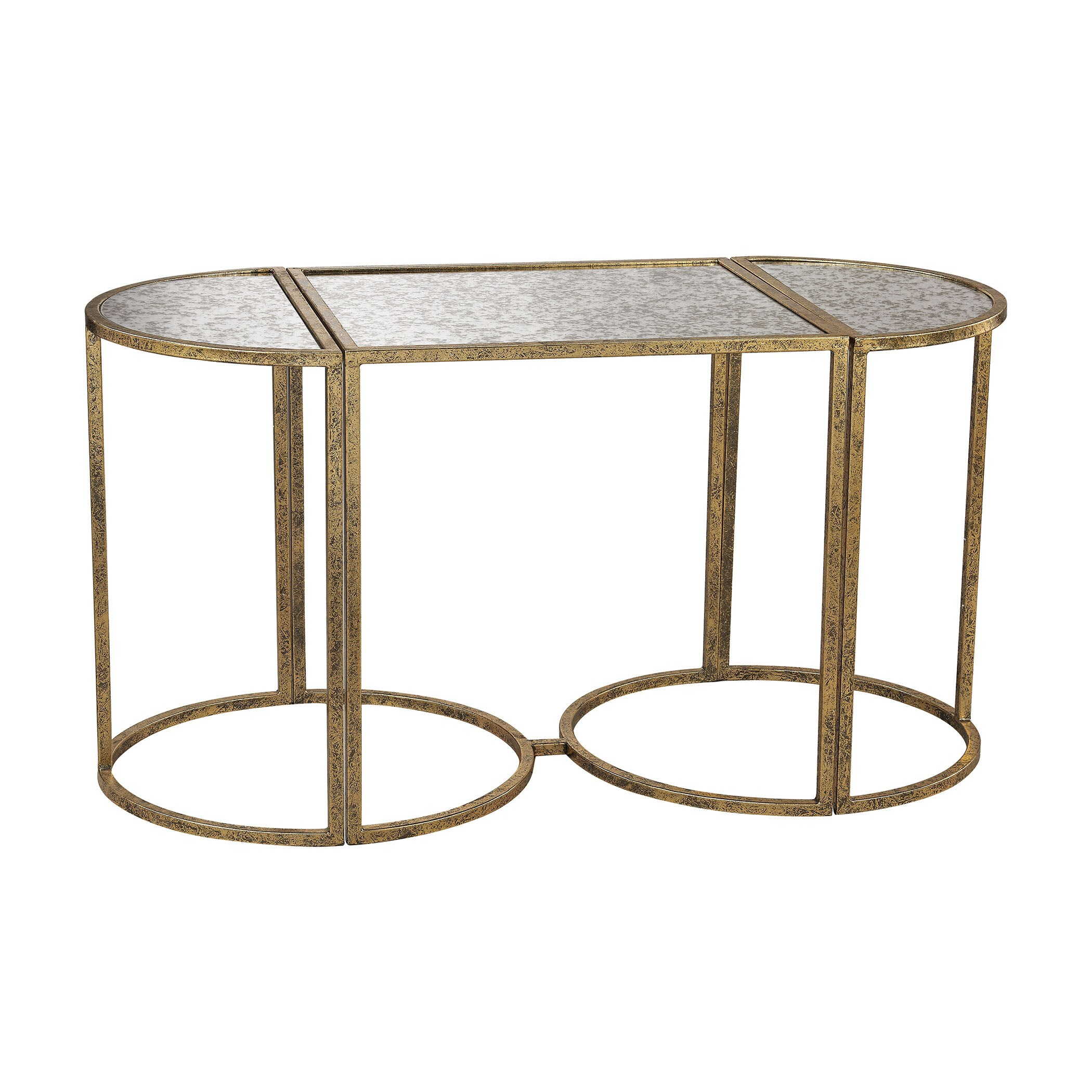 zaphire accent set tables products decor gold zuo blue table alan of side in antique modern