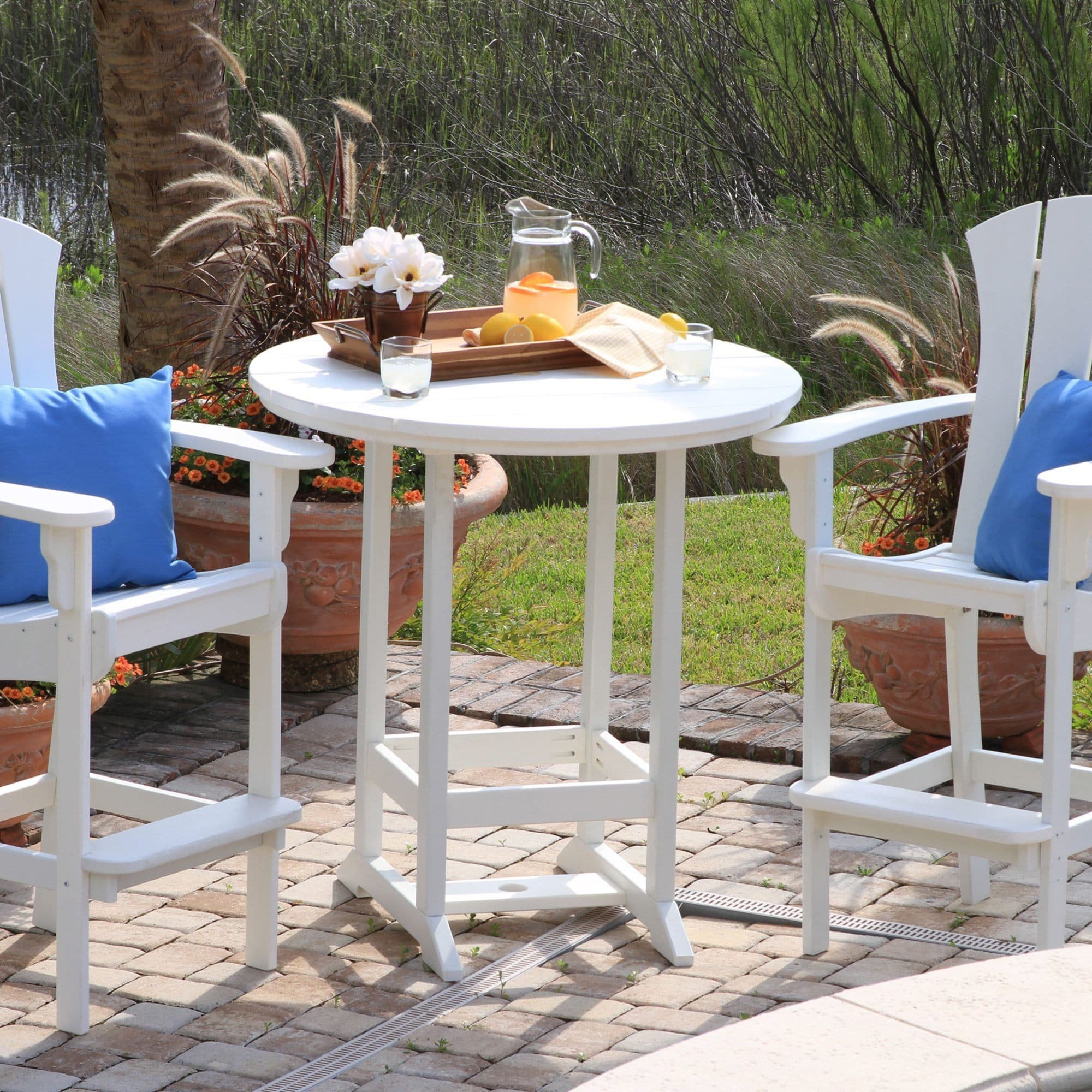 Pawleys Island Outdoor High Dining Table On Free Shipping Today 11532904