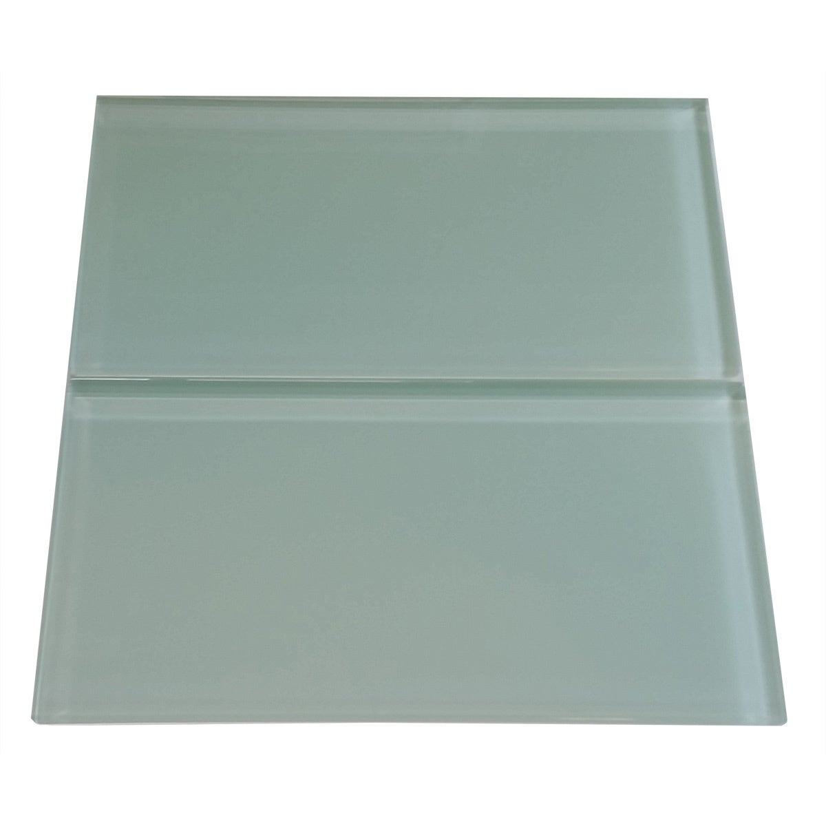 Surf green 6x12 lush glass subway tile free shipping today surf green 6x12 lush glass subway tile free shipping today overstock 18486486 dailygadgetfo Image collections