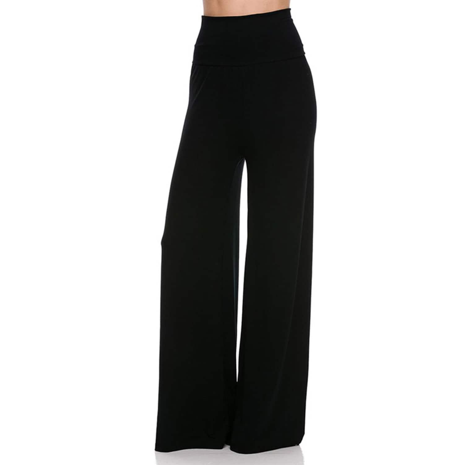 e3f6f31e156 Shop JED Women s Wide Leg Palazzo Pants - On Sale - Free Shipping On ...