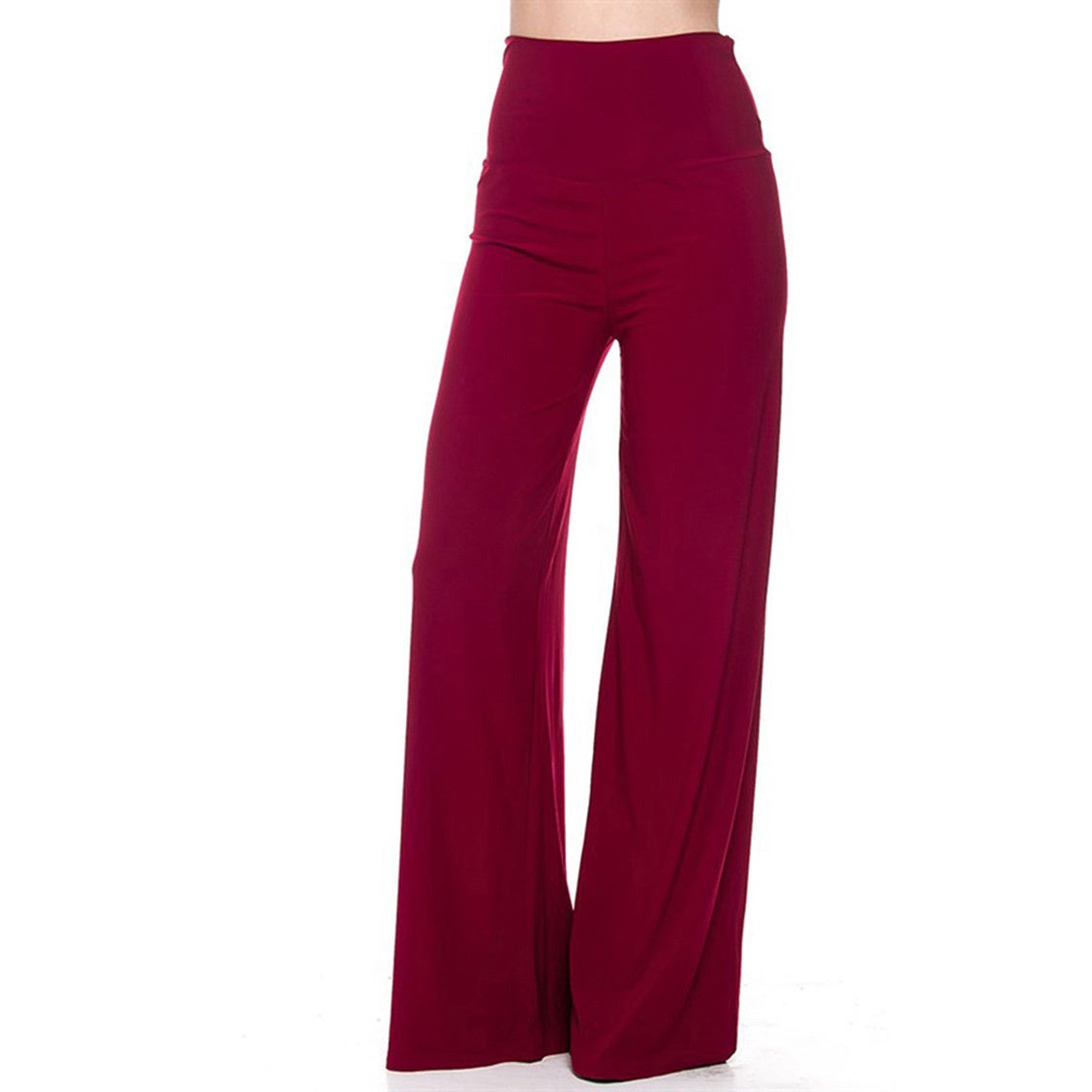 de5e6954718b Shop JED Women's Wide Leg Palazzo Pants - On Sale - Free Shipping On Orders  Over $45 - Overstock - 11542626