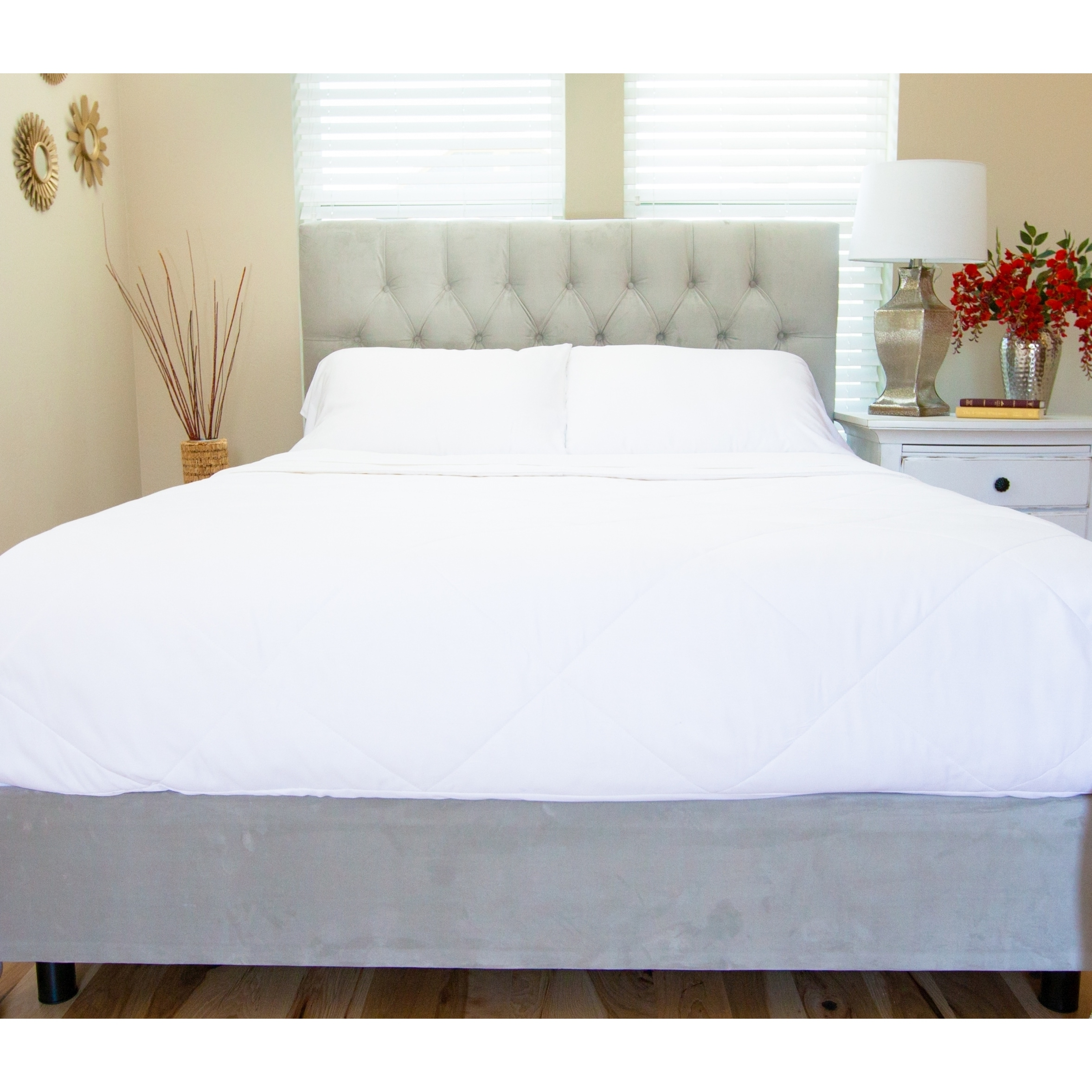overstock shipping blanket mulberry filled damask cotton bath bedding silk stripe today free comforter product