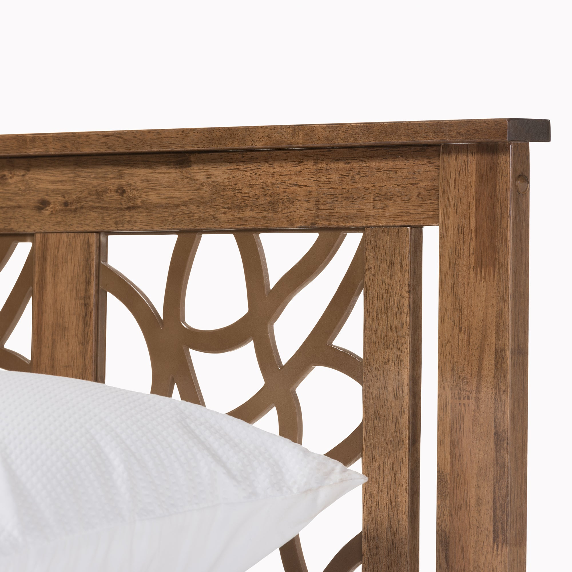Contemporary Wood Platform Bed by Baxton Studio Free Shipping