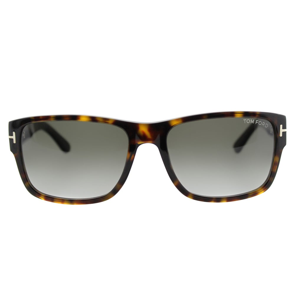 e40ae4caca897 Shop Tom Ford Mason TF 445 52B Dark Havana Rectangle Plasic Sunglasses -  Free Shipping Today - Overstock - 11550263